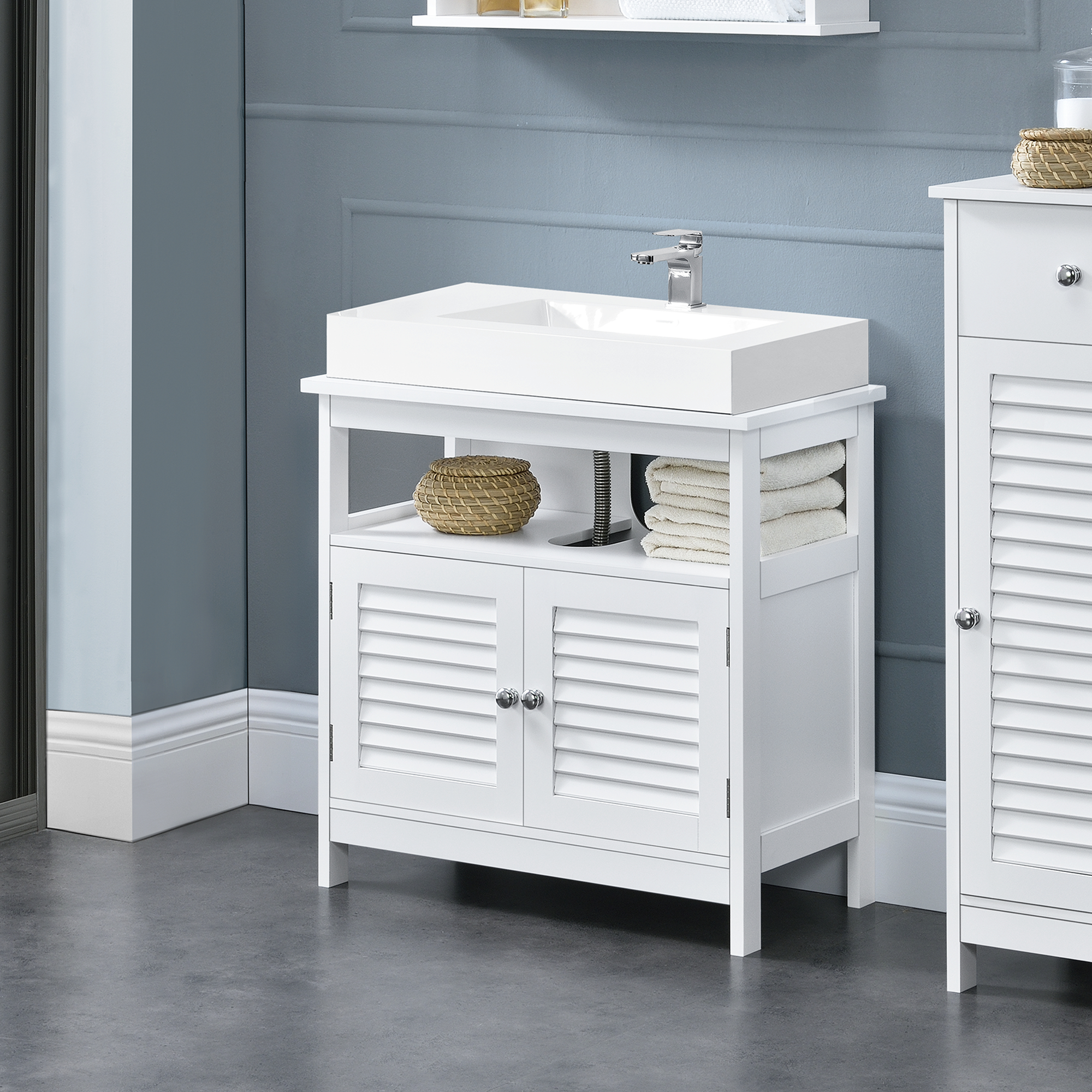 Puertas Para Muebles De Baño | En Casa Mueble De Bano Mueble Para Debajo De Lavabo Puertas