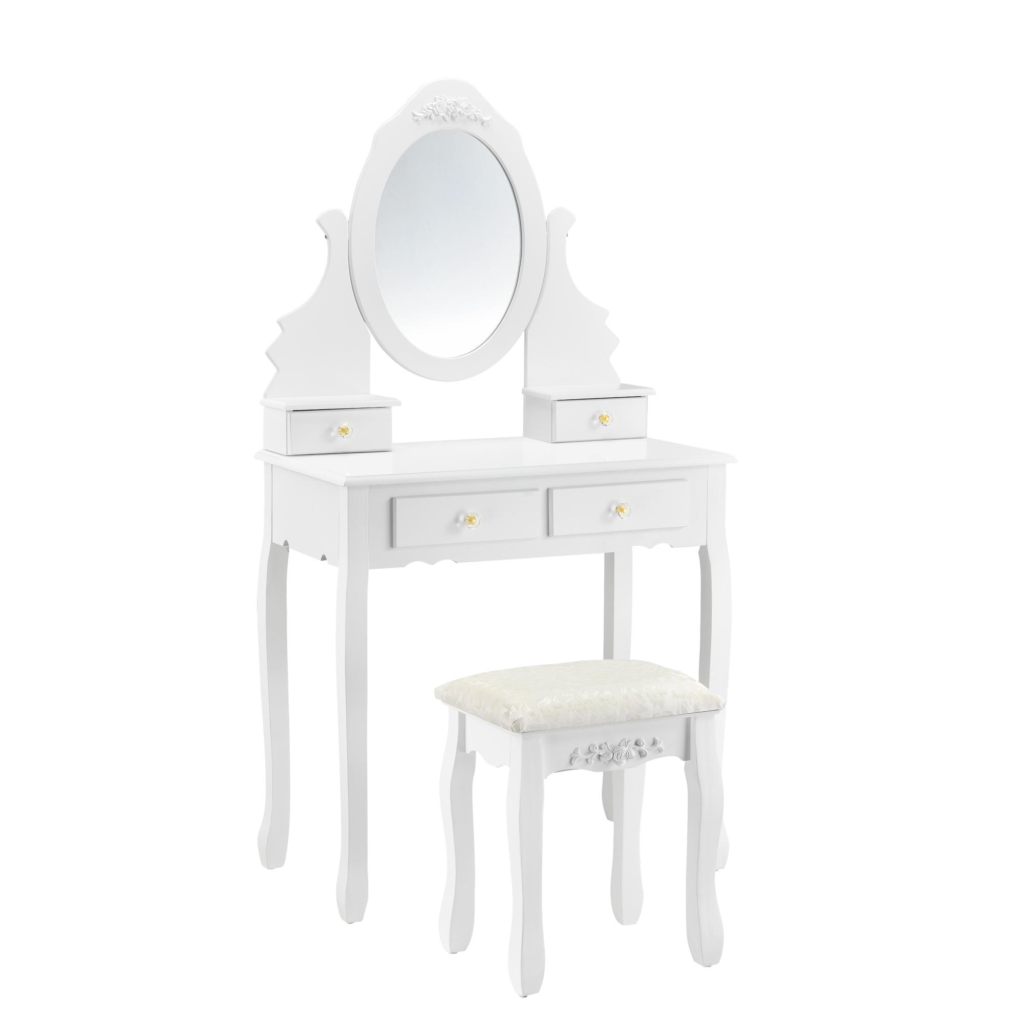 schminktisch mit spiegel hocker frisierkommode frisiertisch kosmetik ebay