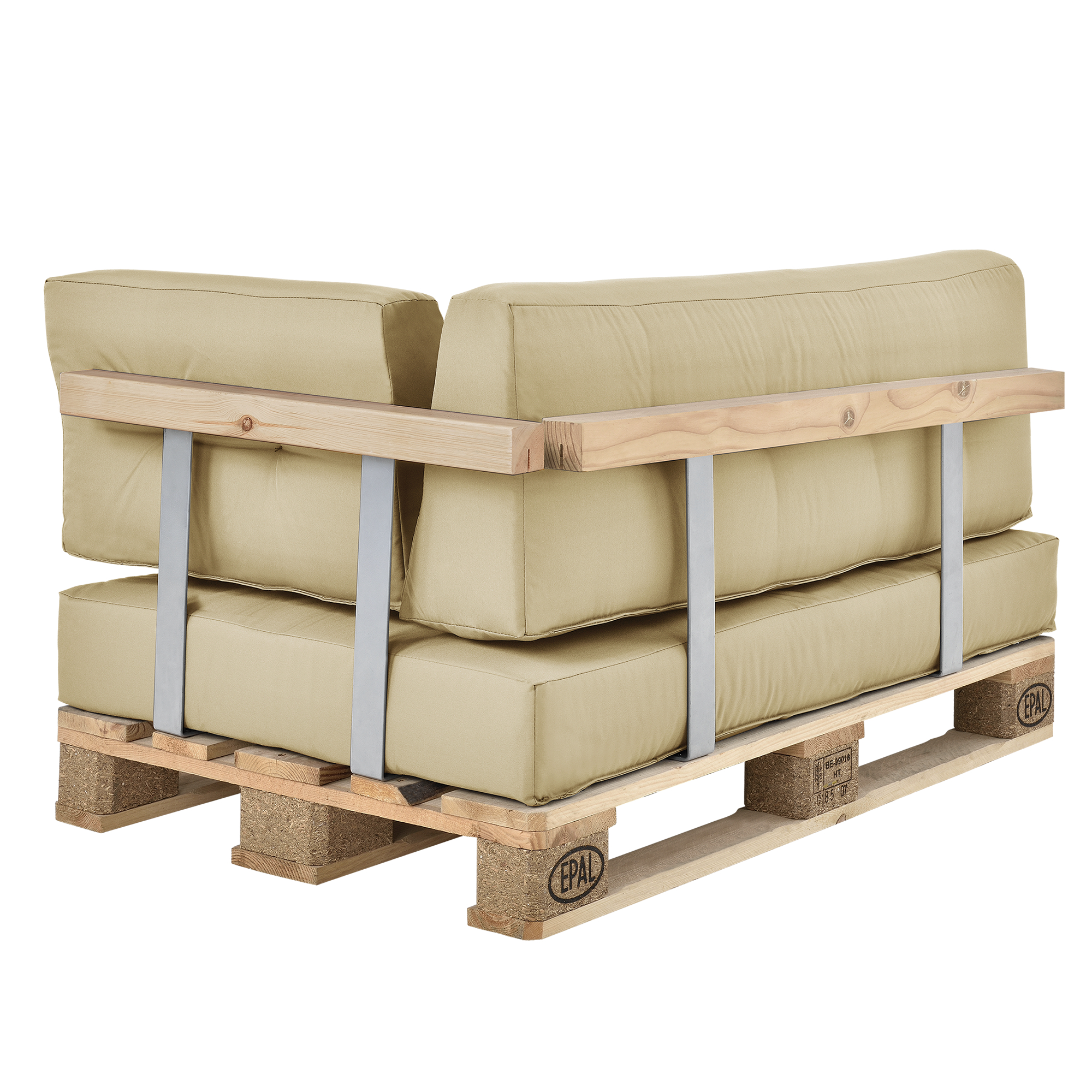 1x coussin de si ge canap palette in outdoor rembourrage canap ebay. Black Bedroom Furniture Sets. Home Design Ideas
