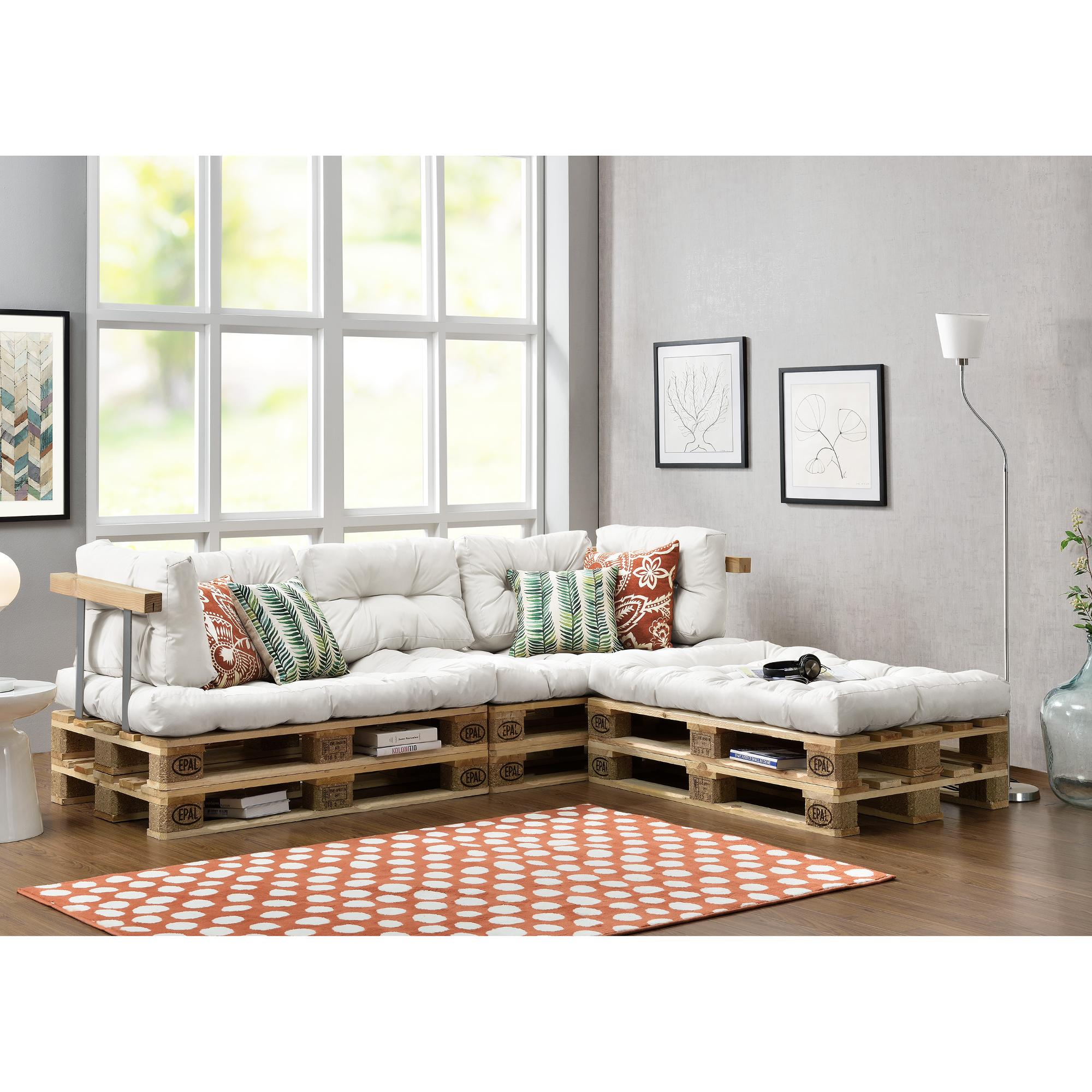 paletten sitzecke polster interessante ideen f r die gestaltung eines raumes in. Black Bedroom Furniture Sets. Home Design Ideas