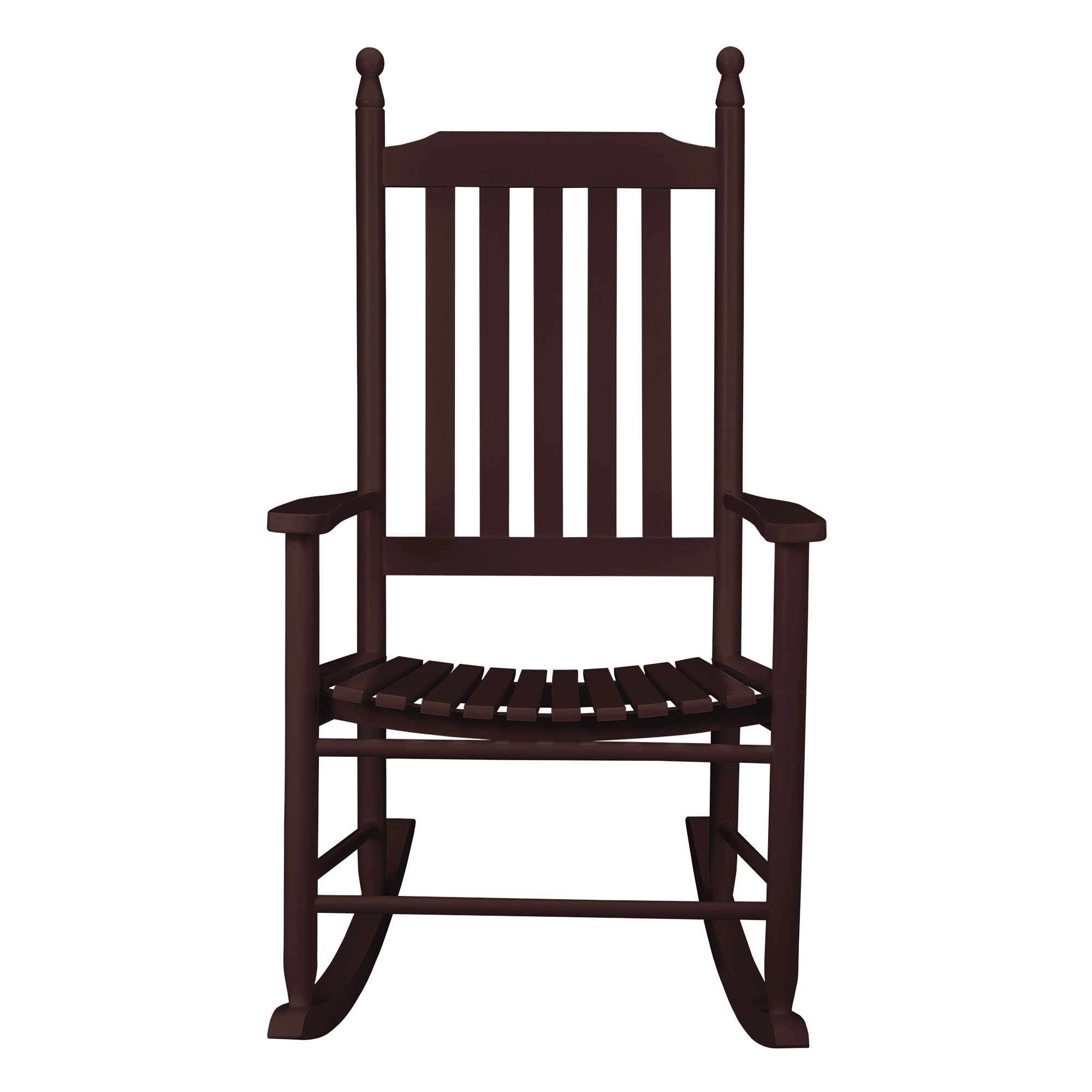 rocking chair texas marron si ge chaise bascule balan oire ebay. Black Bedroom Furniture Sets. Home Design Ideas