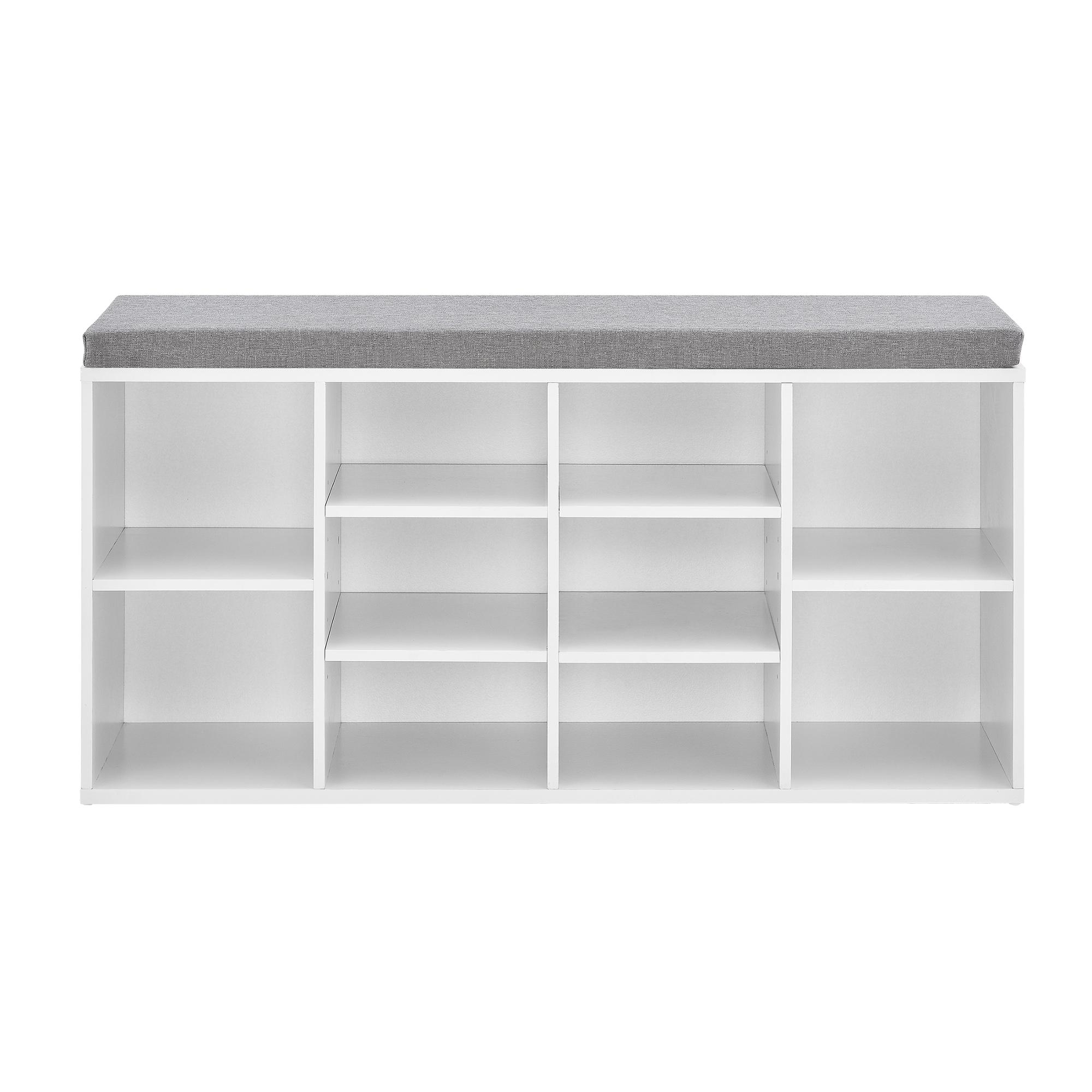 schuhregal schuhablage schrank schuhaufbewahrung schuhbank kommode ebay. Black Bedroom Furniture Sets. Home Design Ideas
