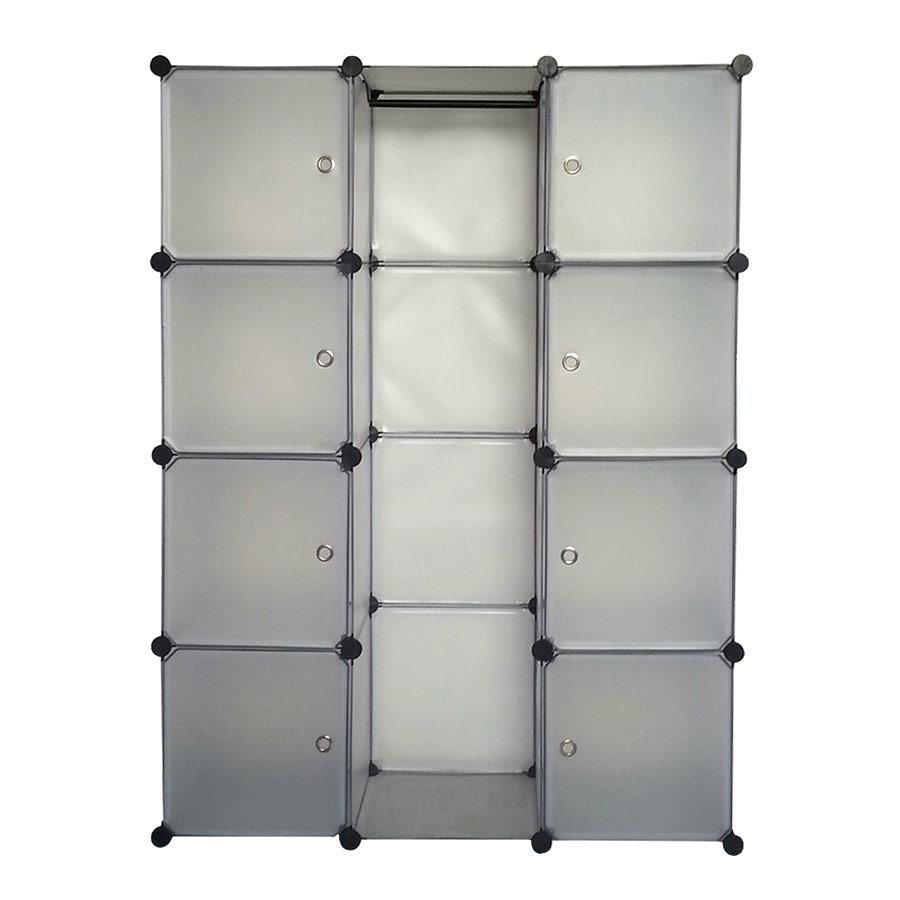 neuhaus system regal schrank t ren 145x110cm wei steck b ro b cher bad ebay. Black Bedroom Furniture Sets. Home Design Ideas