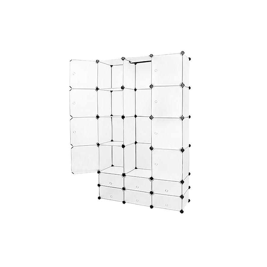 neuhaus system regal schrank 14 t ren 180x110cm wei. Black Bedroom Furniture Sets. Home Design Ideas