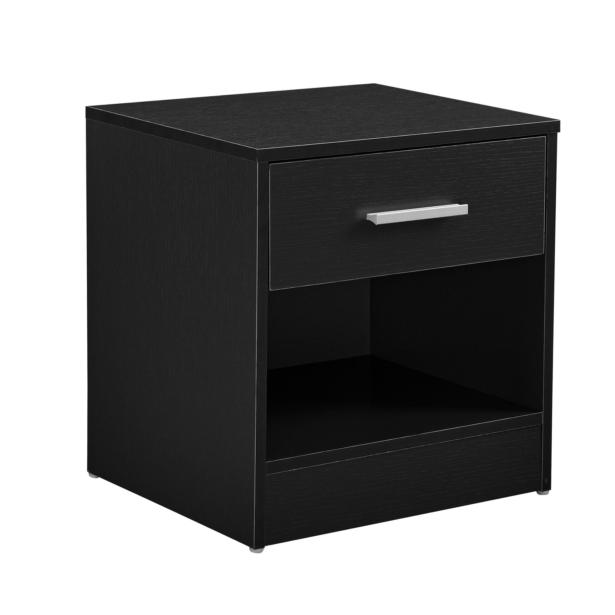 nachttisch schubladen nachtkommode beistelltisch schrank ablage b ro ebay. Black Bedroom Furniture Sets. Home Design Ideas
