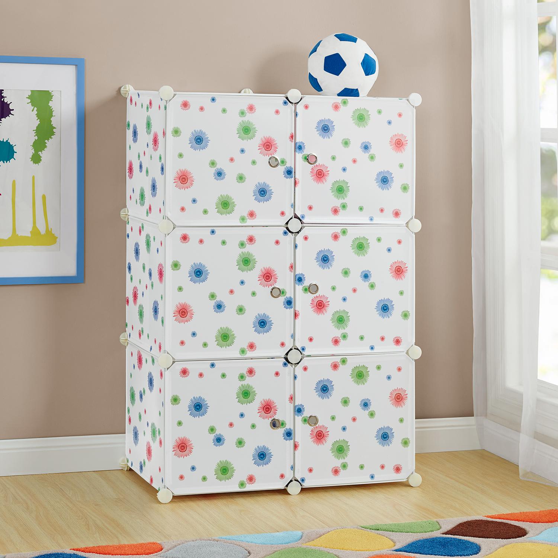 kinder system regal schrank t ren 110x74cm. Black Bedroom Furniture Sets. Home Design Ideas