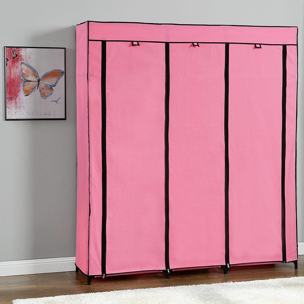 neu holz kleiderschrank stoff falt schrank wohnzimmer. Black Bedroom Furniture Sets. Home Design Ideas