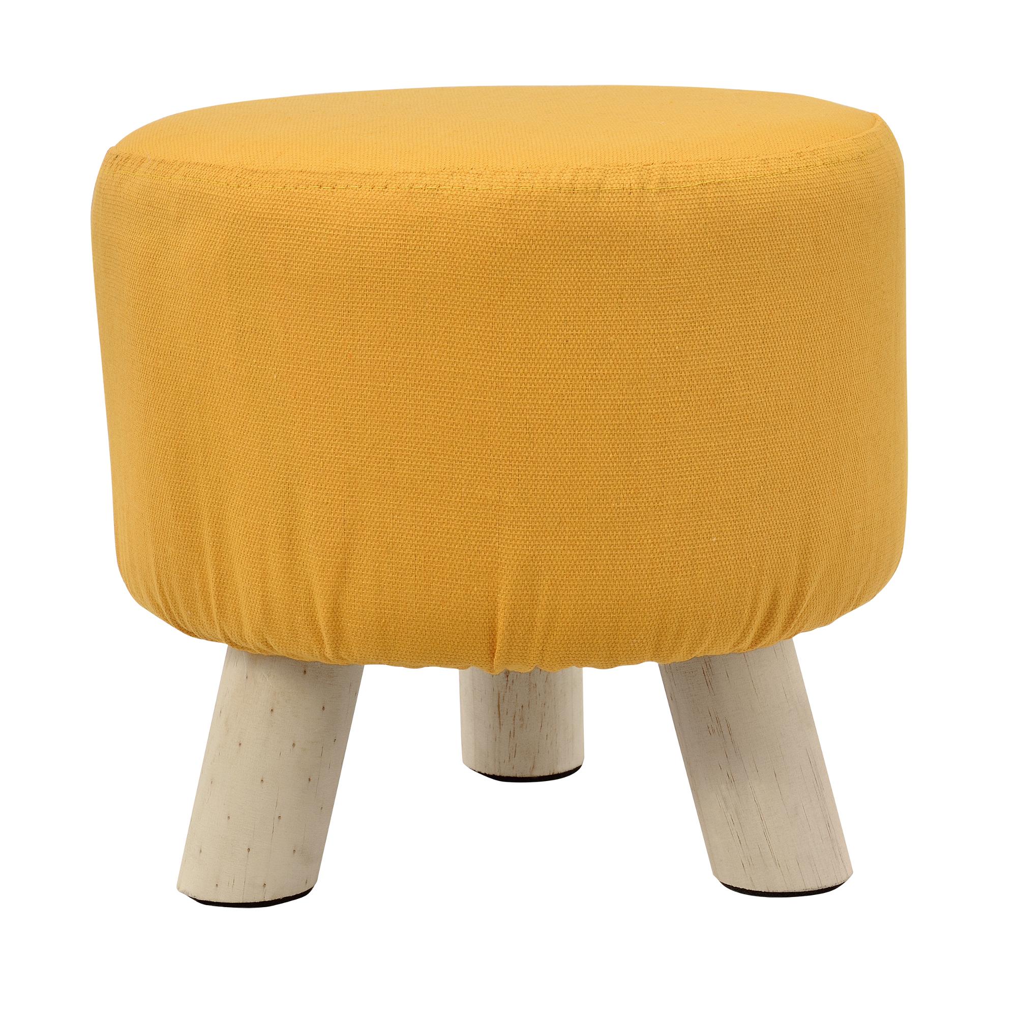 sitz hocker senf farben polsterhocker. Black Bedroom Furniture Sets. Home Design Ideas