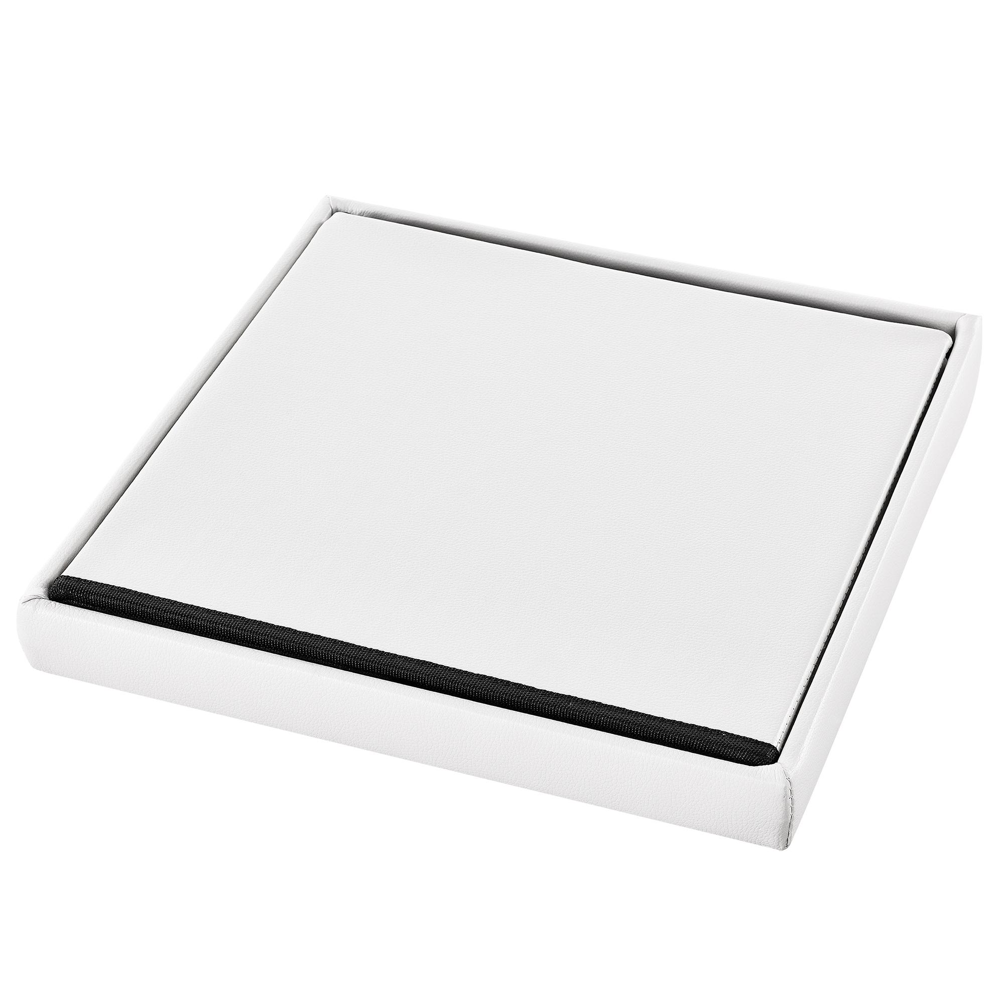 sitzhocker wei 38x38x38cm sitzw rfel. Black Bedroom Furniture Sets. Home Design Ideas
