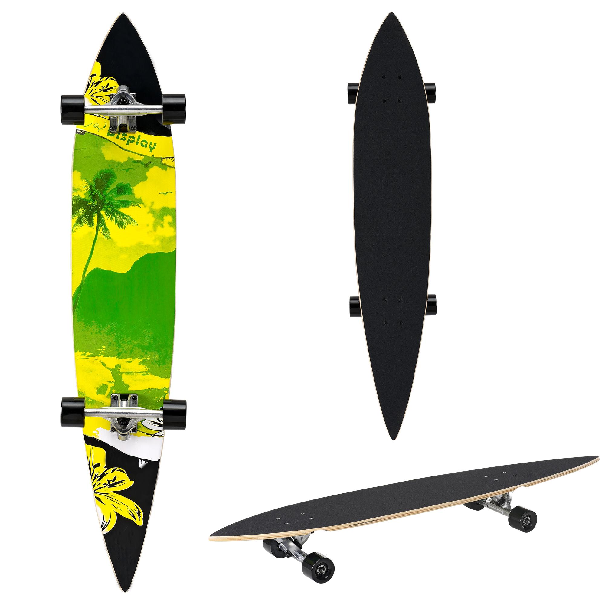[pro.tec]® Pintail longboard - ZY-4608-2 - skateboard / surfer board