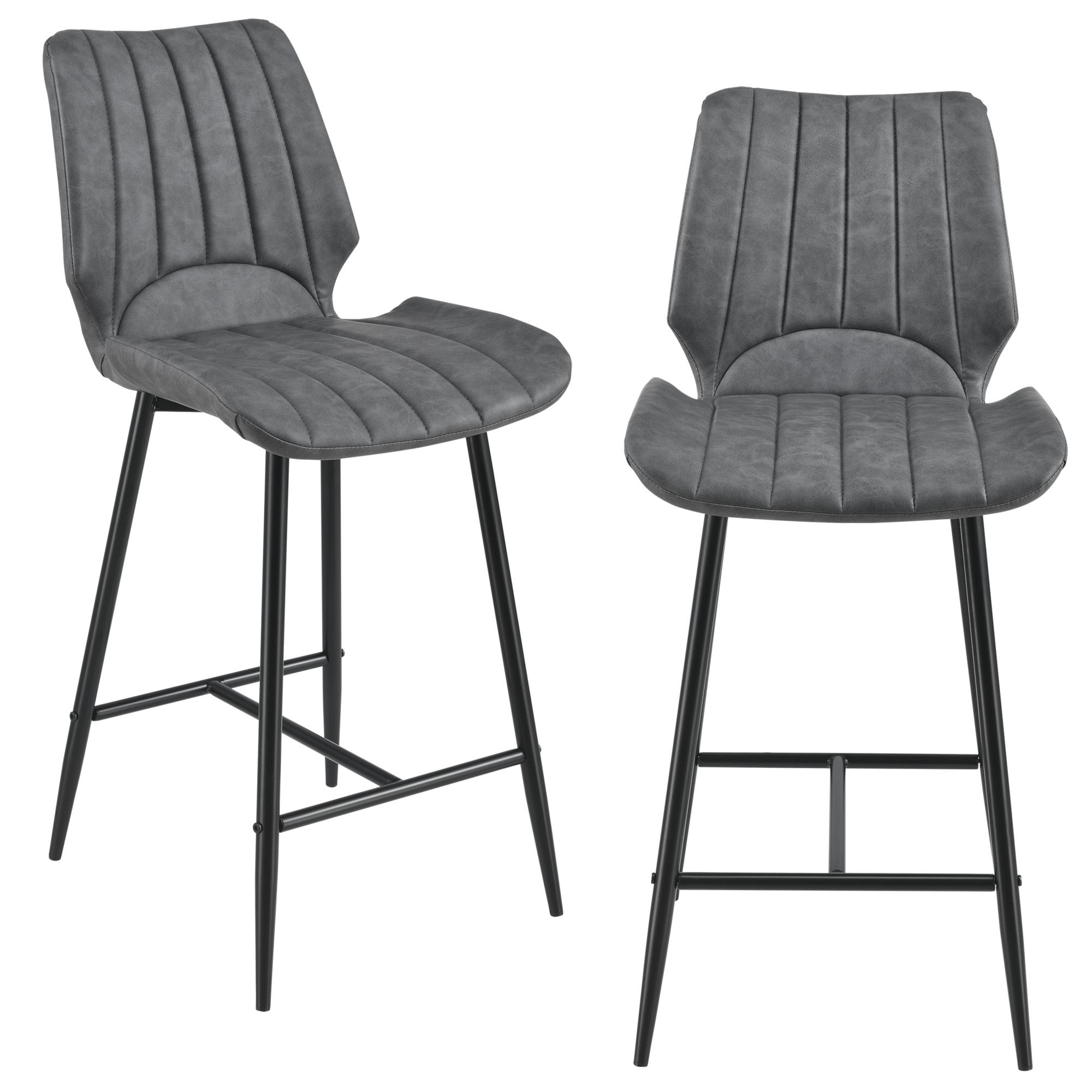 [en.casa]® Barová židle AACM-9035