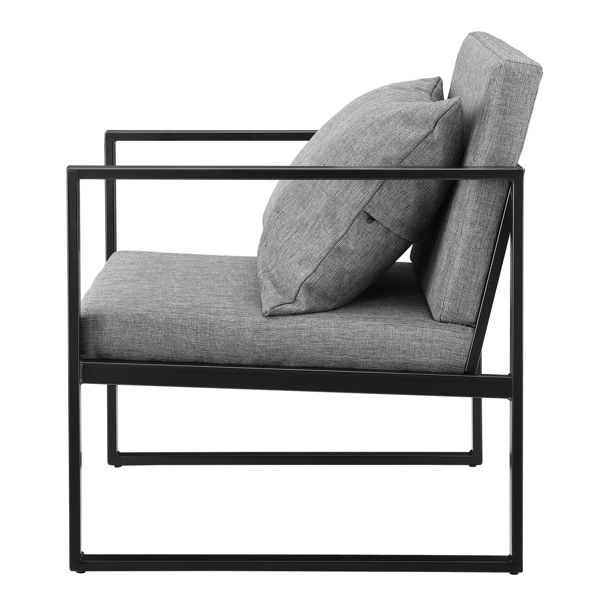 en.casa 2x Design Lehnstuhl Relaxsessel Esszimmer Stuhl Sessel Polstersessel