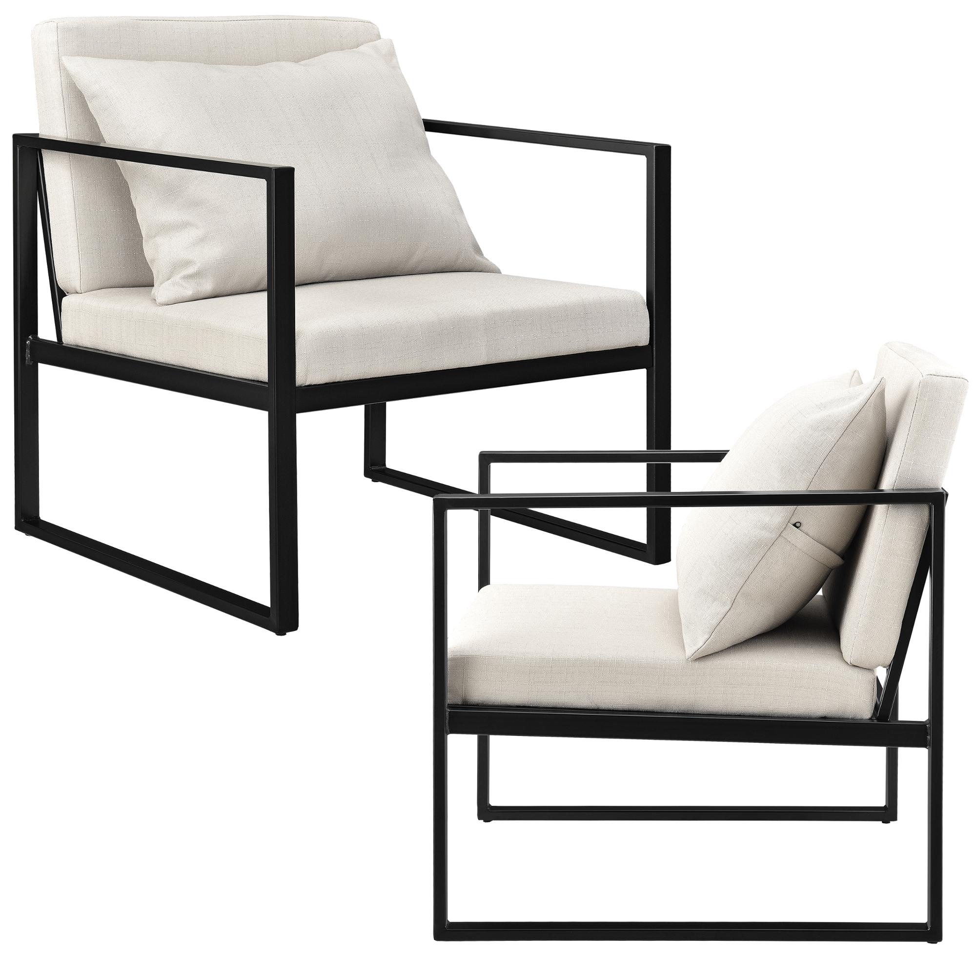 2x Design Lehnstuhl Relaxsessel Esszimmer Stuhl