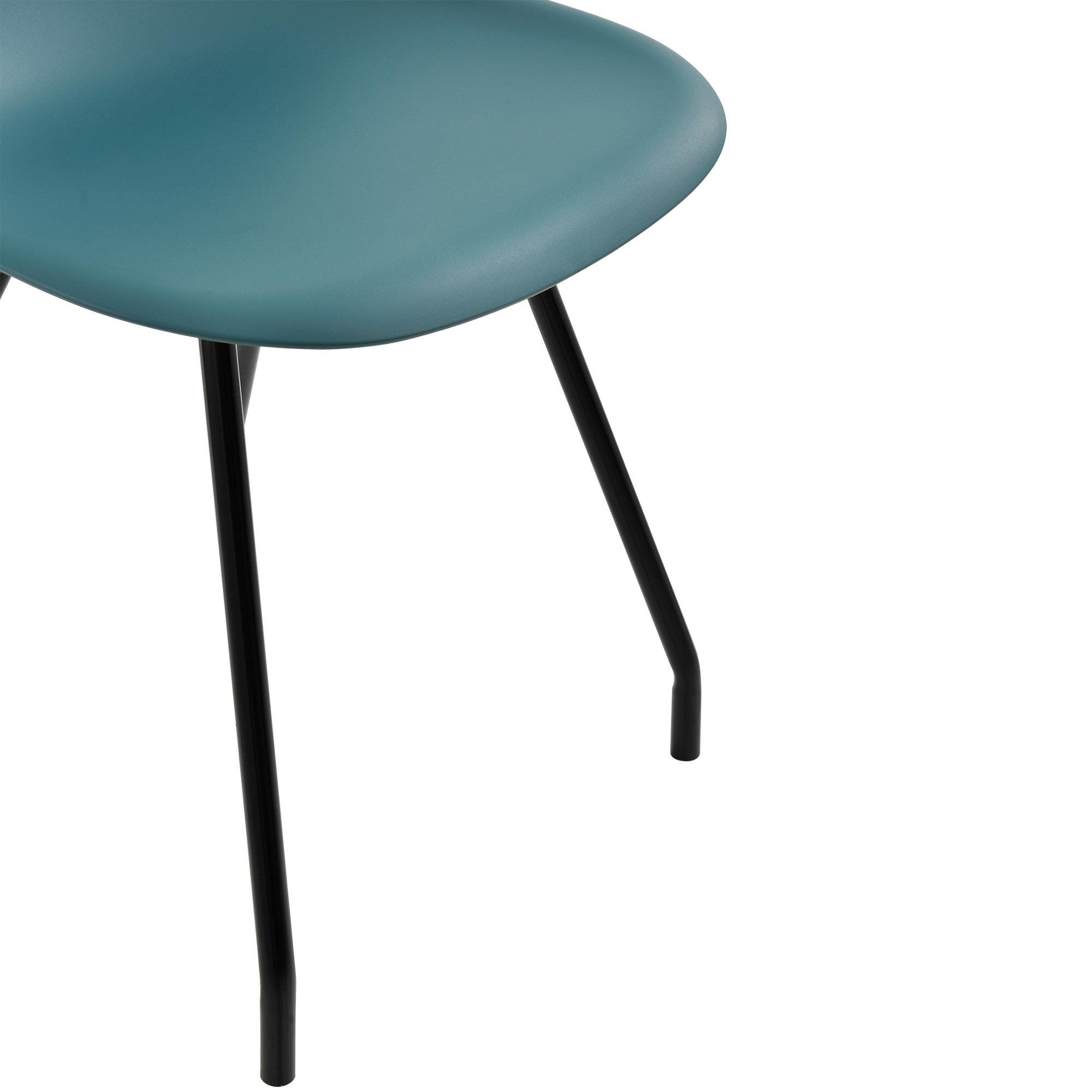 6x design st hle esszimmer t rkis stuhl plastik kunststoff retro 4059438106538 ebay. Black Bedroom Furniture Sets. Home Design Ideas