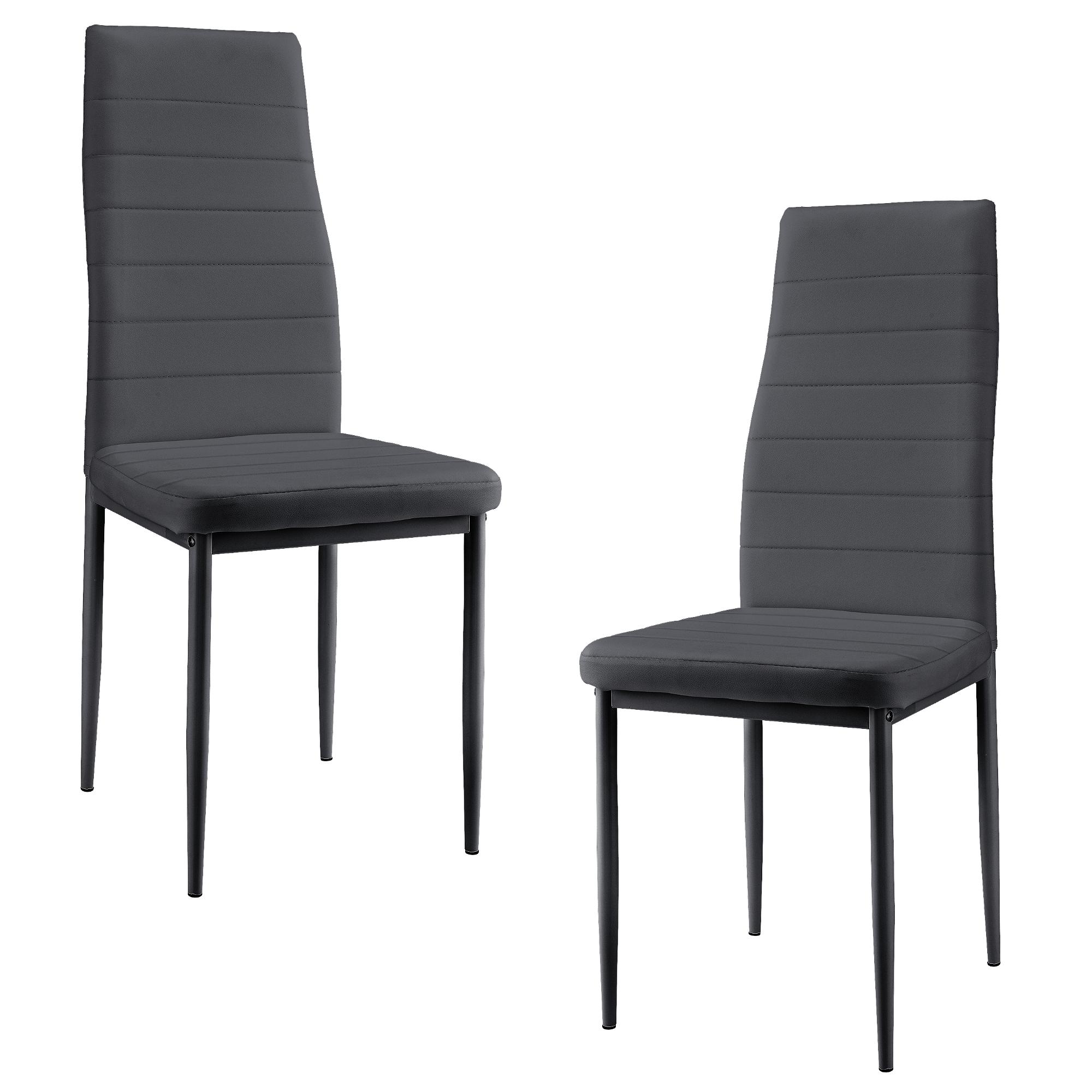 esszimmerstuhl 2er set wohnzimmer k chenstuhl esszimmer st hle ebay. Black Bedroom Furniture Sets. Home Design Ideas