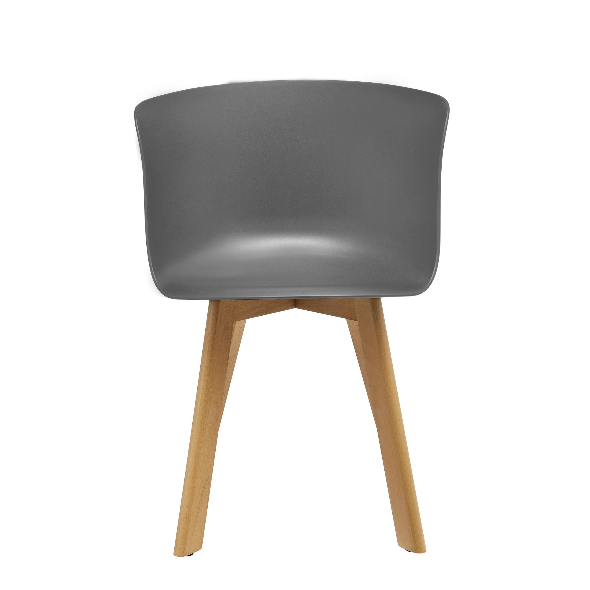 [ensa] Esstisch Mit 6 Stühlen Bambus Grau 180x80