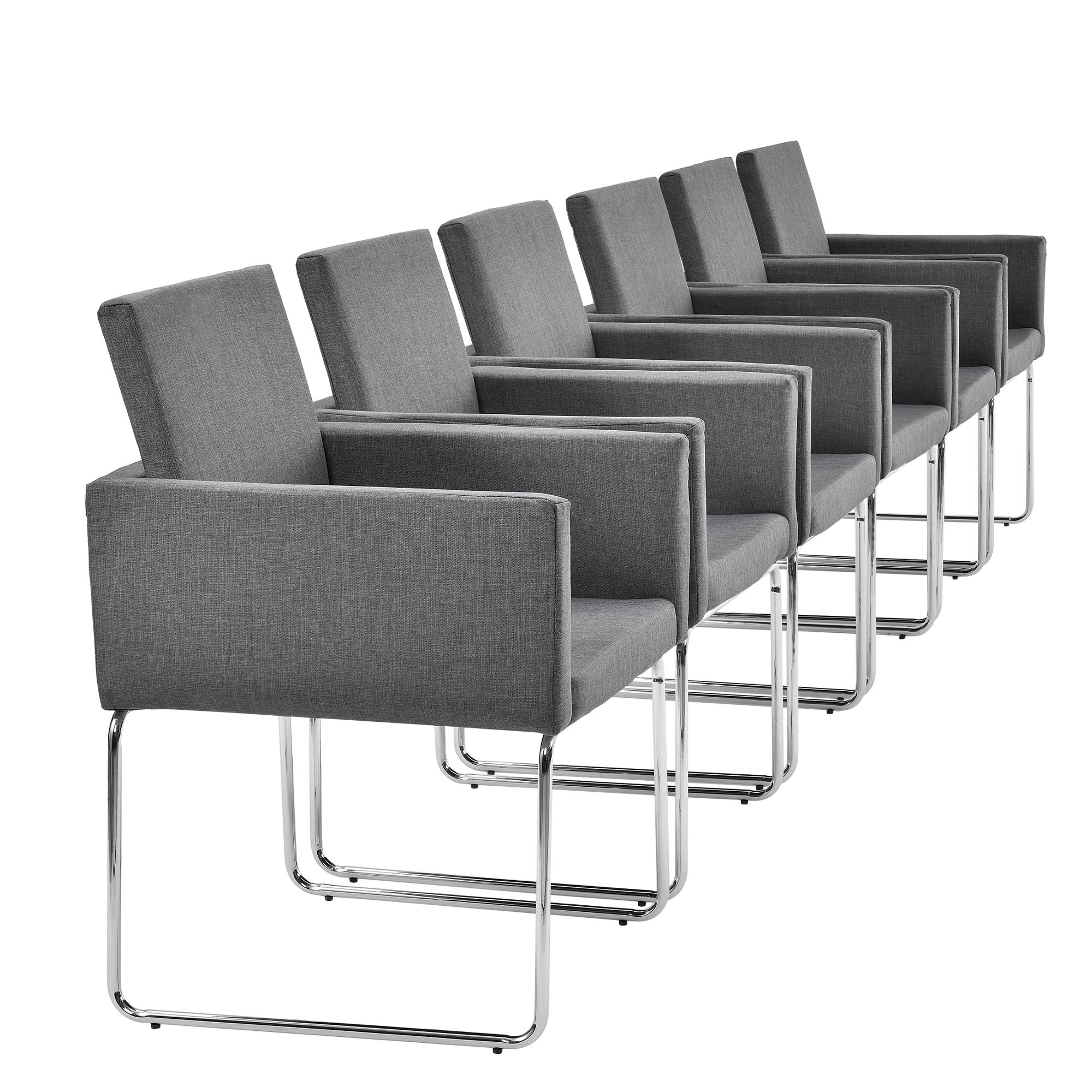 Table de salle manger mit 6 chaises ch ne for Chaise de salle a manger en chene