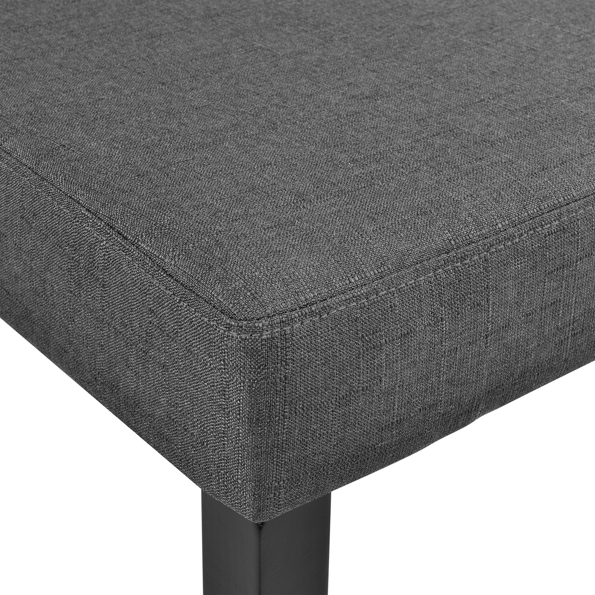 6x design st hle textil dunkelgrau stuhl hochlehner stoff esszimmer 4059438106552 ebay. Black Bedroom Furniture Sets. Home Design Ideas