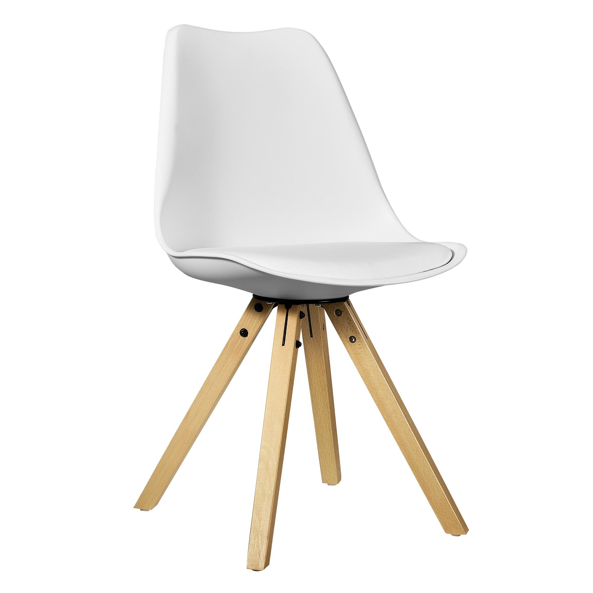 Design Stühle Holz en casa 2x design stühle esszimmer stuhl holz kunststoff kunst leder plastik ebay