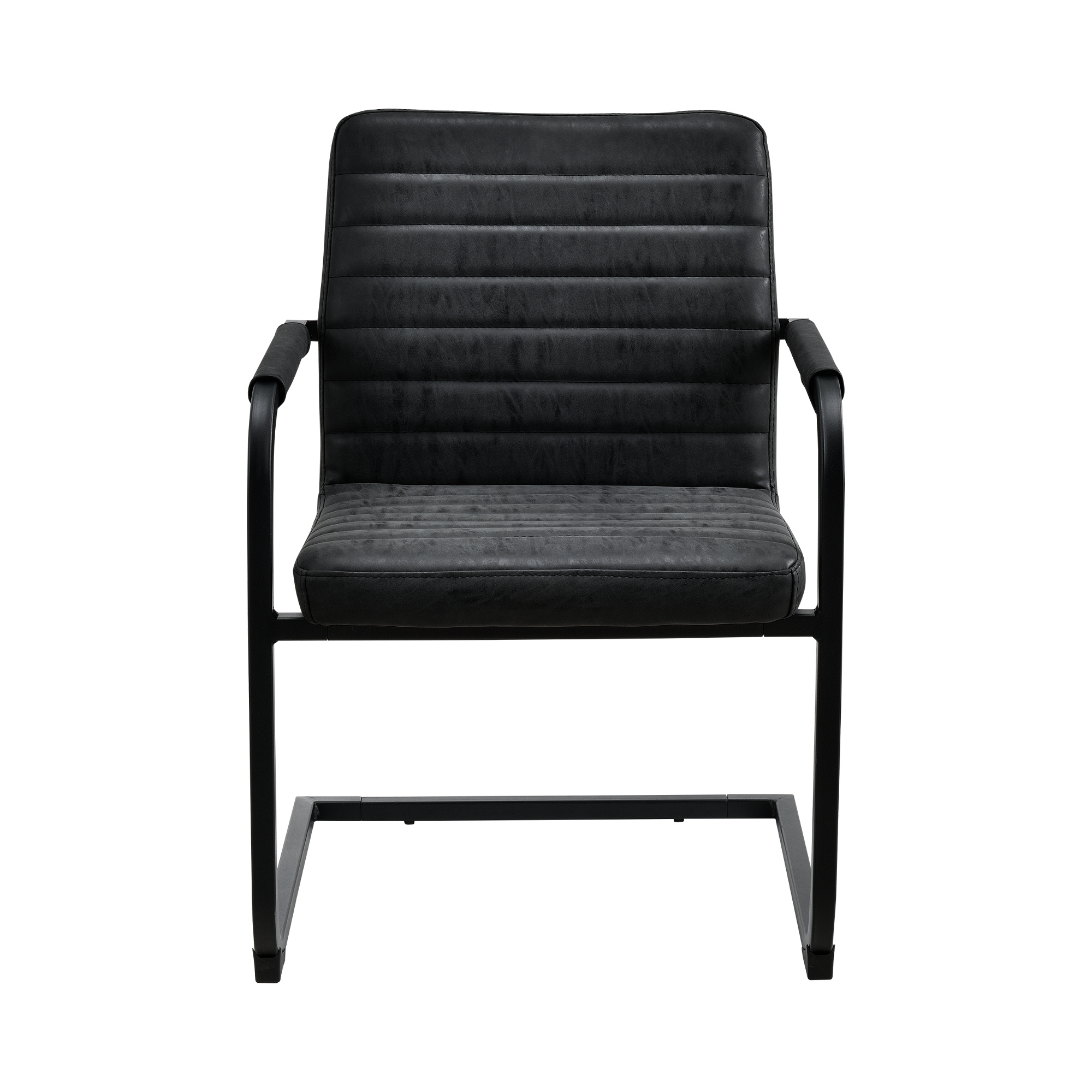6x chaises cantilever noir 86x60cm salle manger balan ant chaise ebay. Black Bedroom Furniture Sets. Home Design Ideas