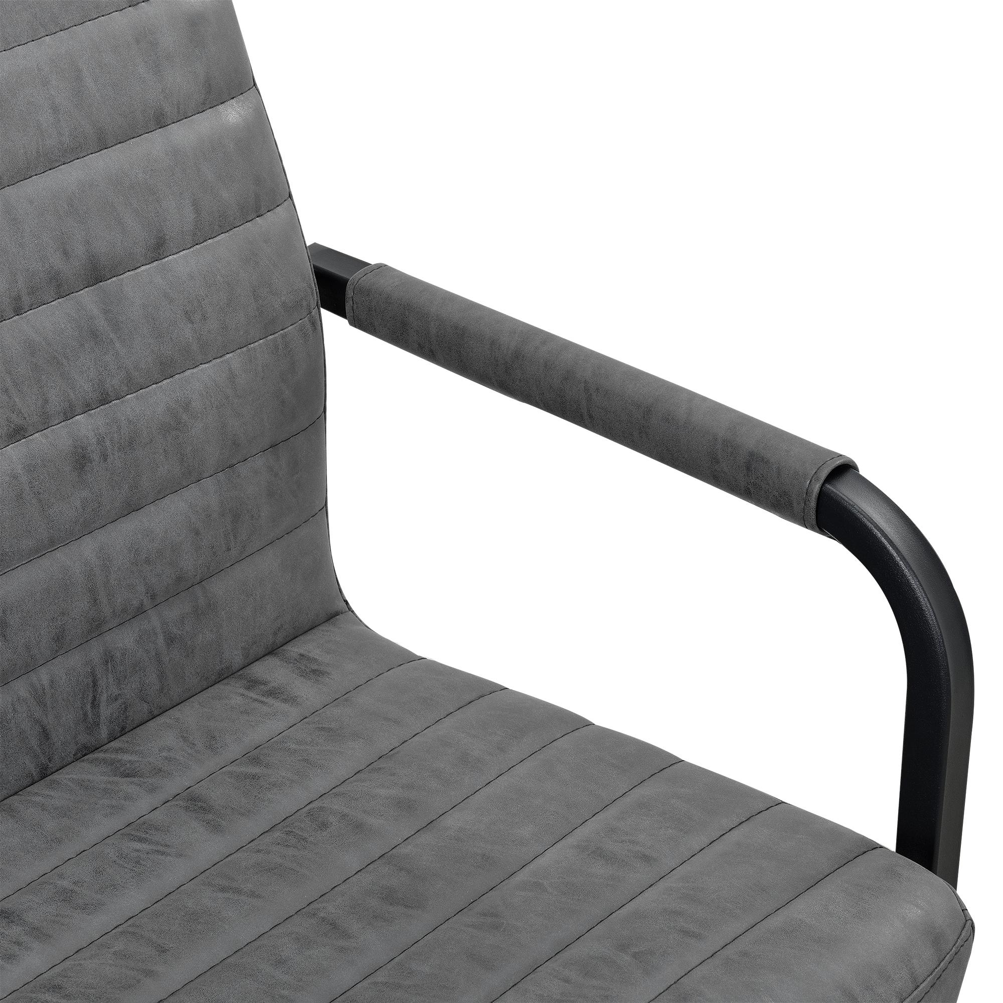 esstisch eiche mit 6 st hlen whitewash 180x100 tisch st hle grau ebay. Black Bedroom Furniture Sets. Home Design Ideas