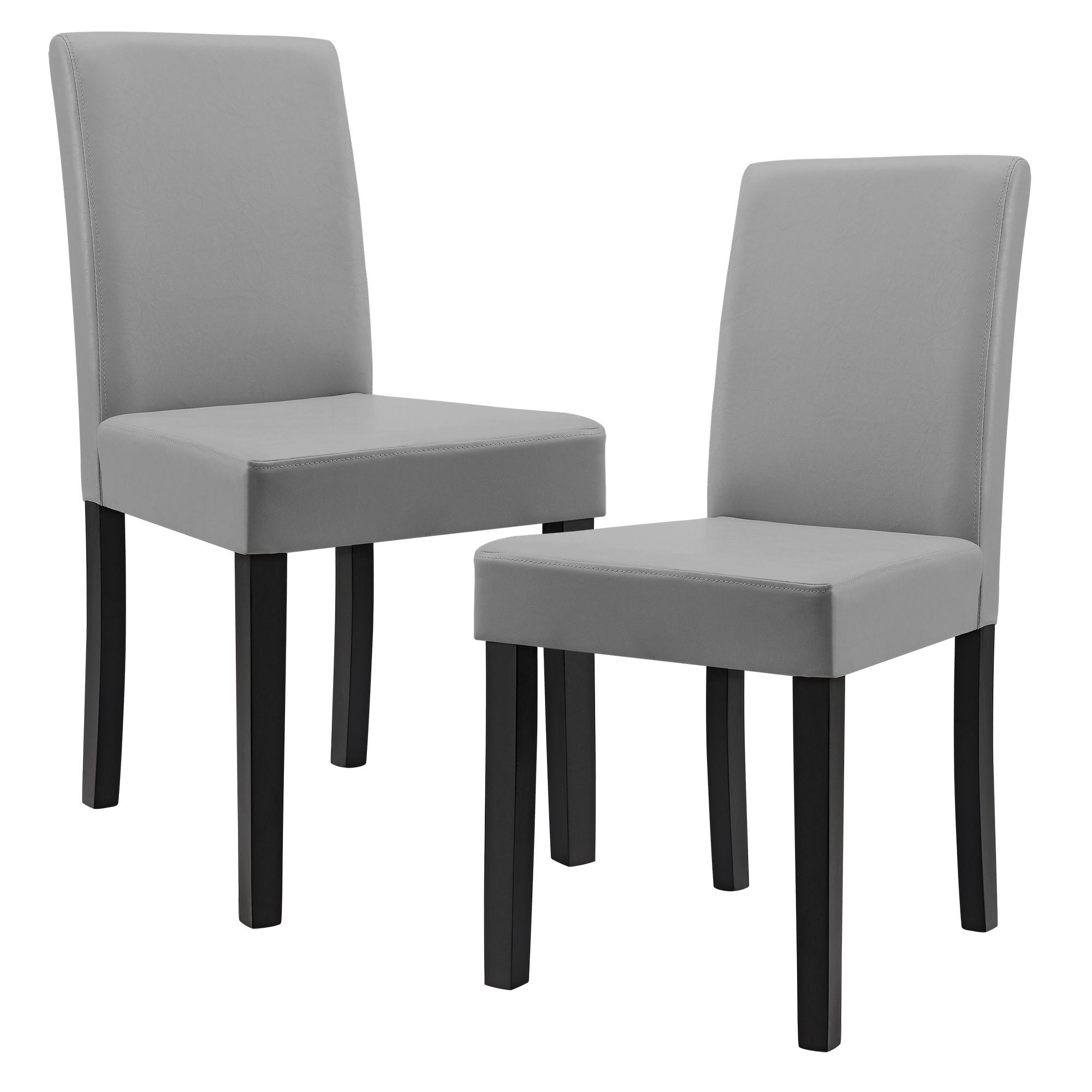 6x chaises dossier haut salle manger gris clair for Chaise haut dossier salle a manger