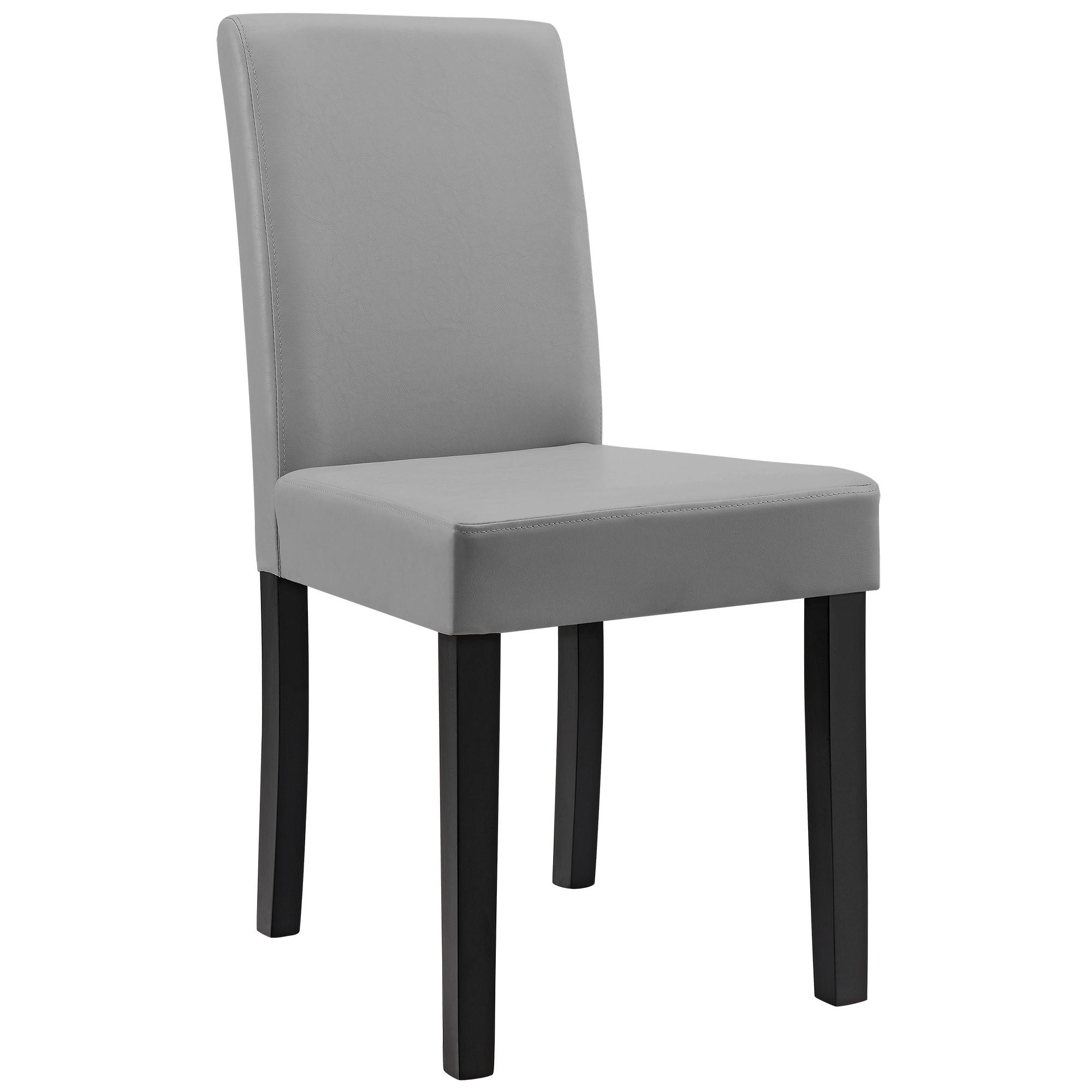 esstisch wei 160x90 mit 6er set st hle. Black Bedroom Furniture Sets. Home Design Ideas