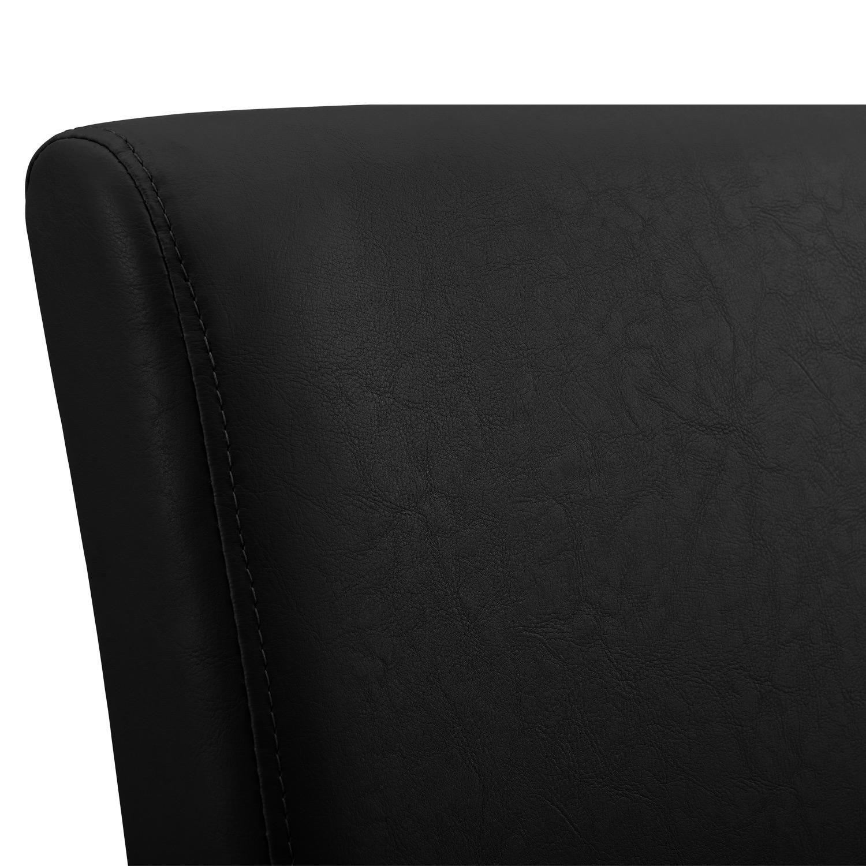 Esstisch Stühle Acryl ~ [encasa]® ESSTISCH 160×90 EICHE WEISS + 6 STÜHLE SCHWARZ ESSZIMMER TISCH NEU