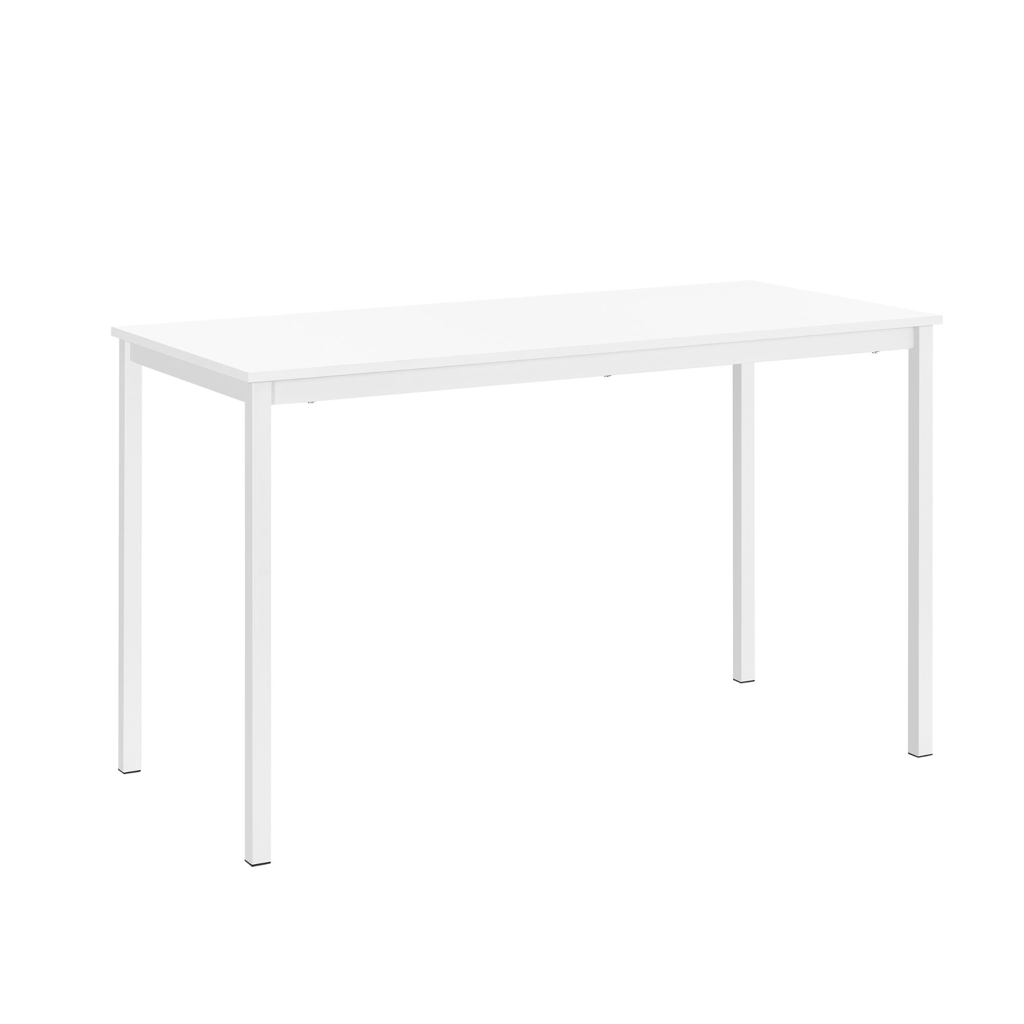 [en.casa]® Jídelní stůl AADT-0201 - bílý