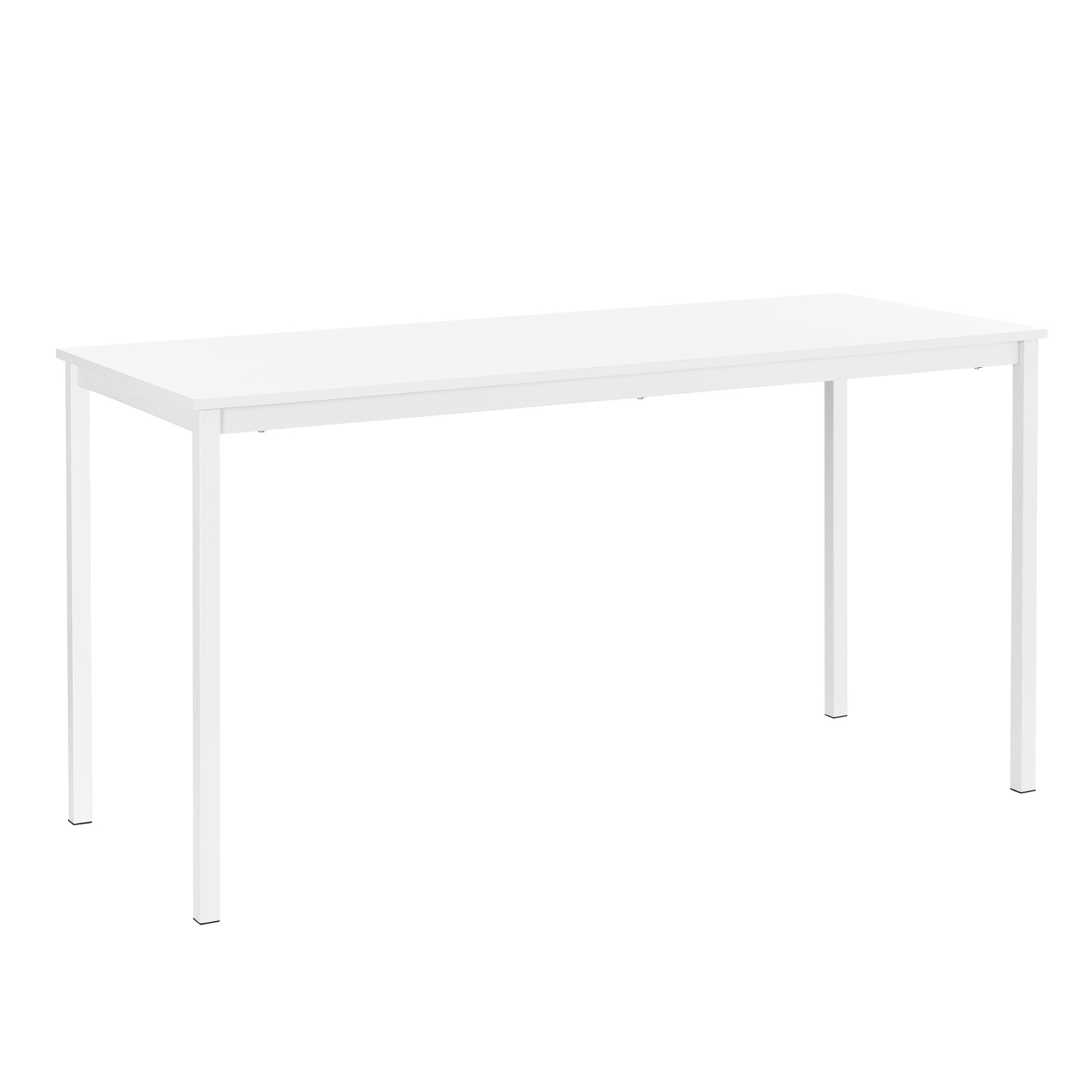 [en.casa]® Jídelní stůl AADT-0203 - bílý