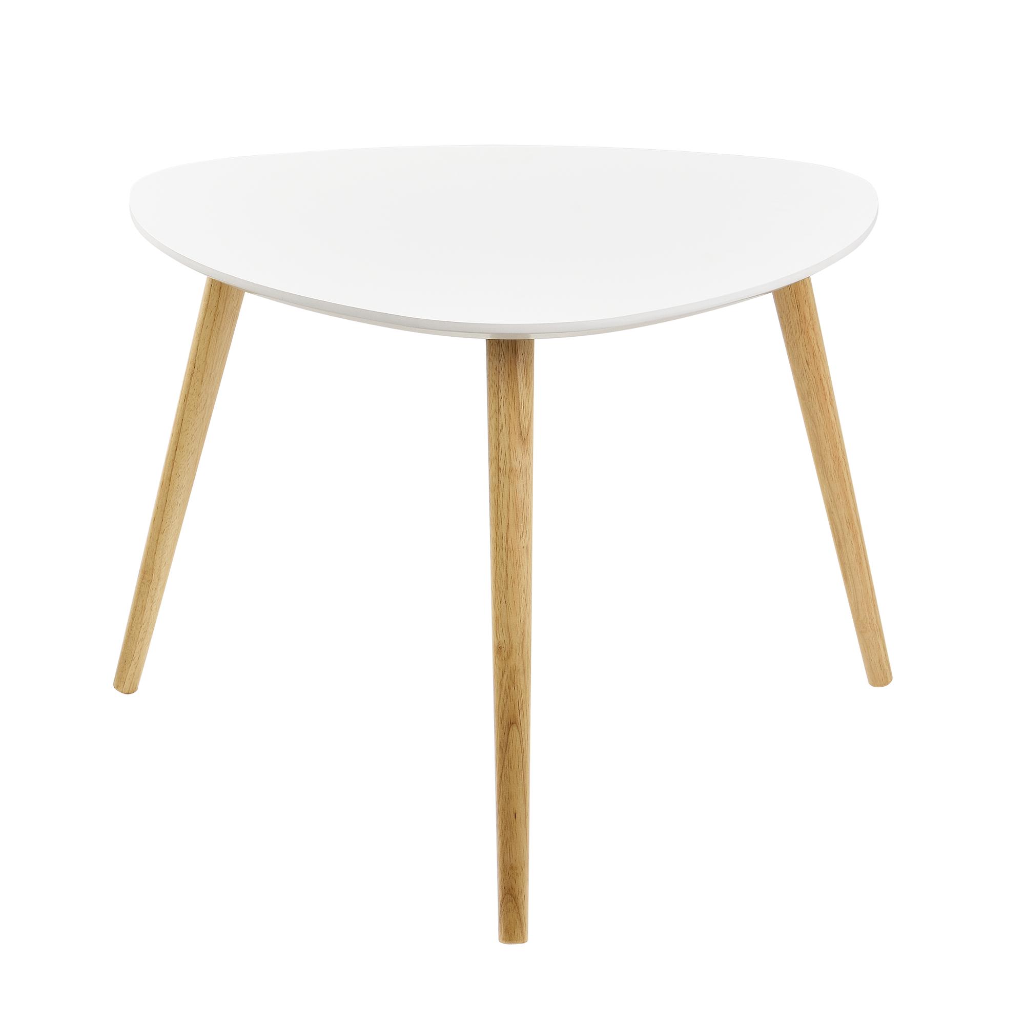 en casa table basse 2er set table d 39 appoint lit table salon blanc ebay. Black Bedroom Furniture Sets. Home Design Ideas