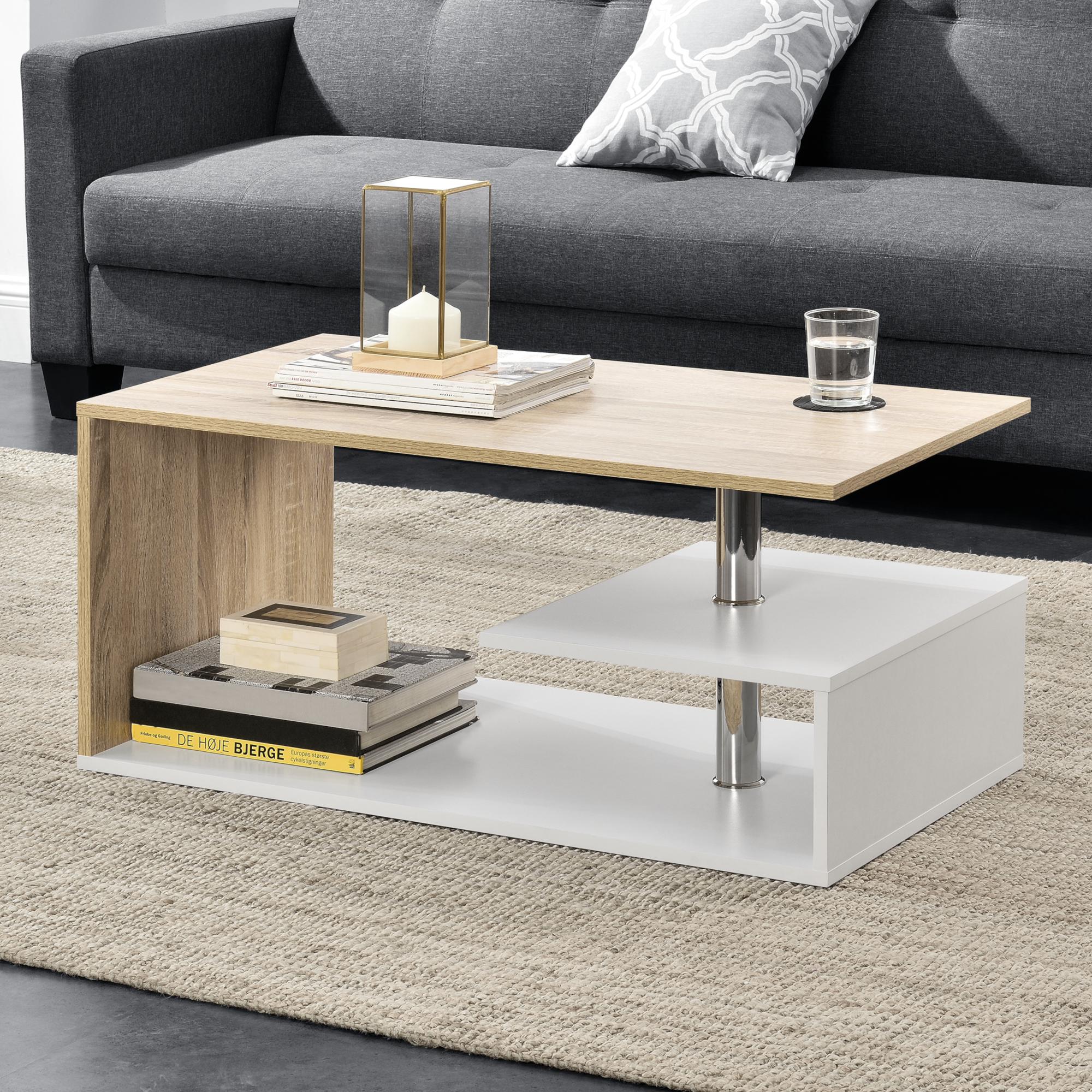 Dettagli su [En.casa] Tavolino da Salotto Tavolo Tabella Del Sofà