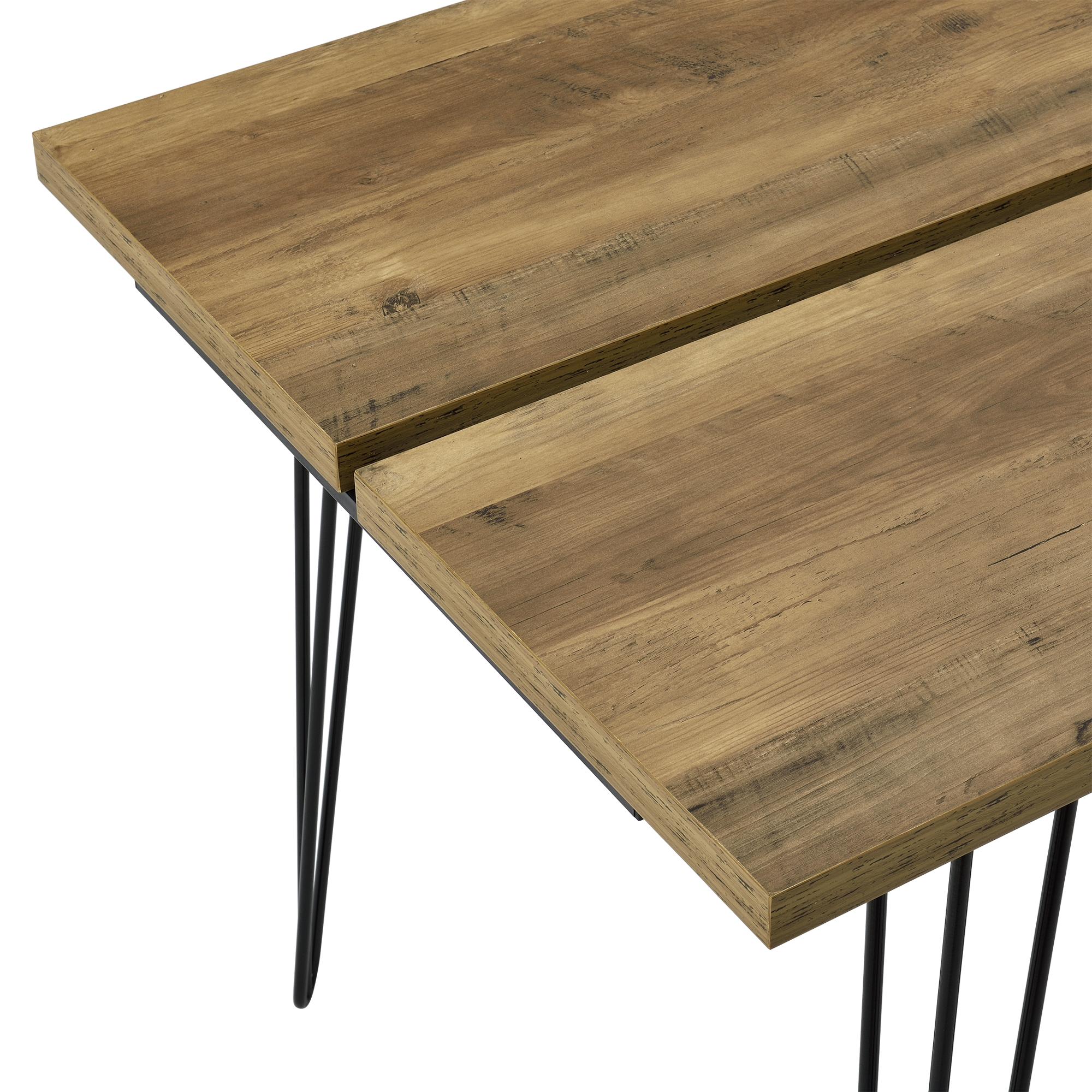 esstisch 160x75cm k chentisch esszimmer tisch hairpin legs holz optik 4059438998942. Black Bedroom Furniture Sets. Home Design Ideas