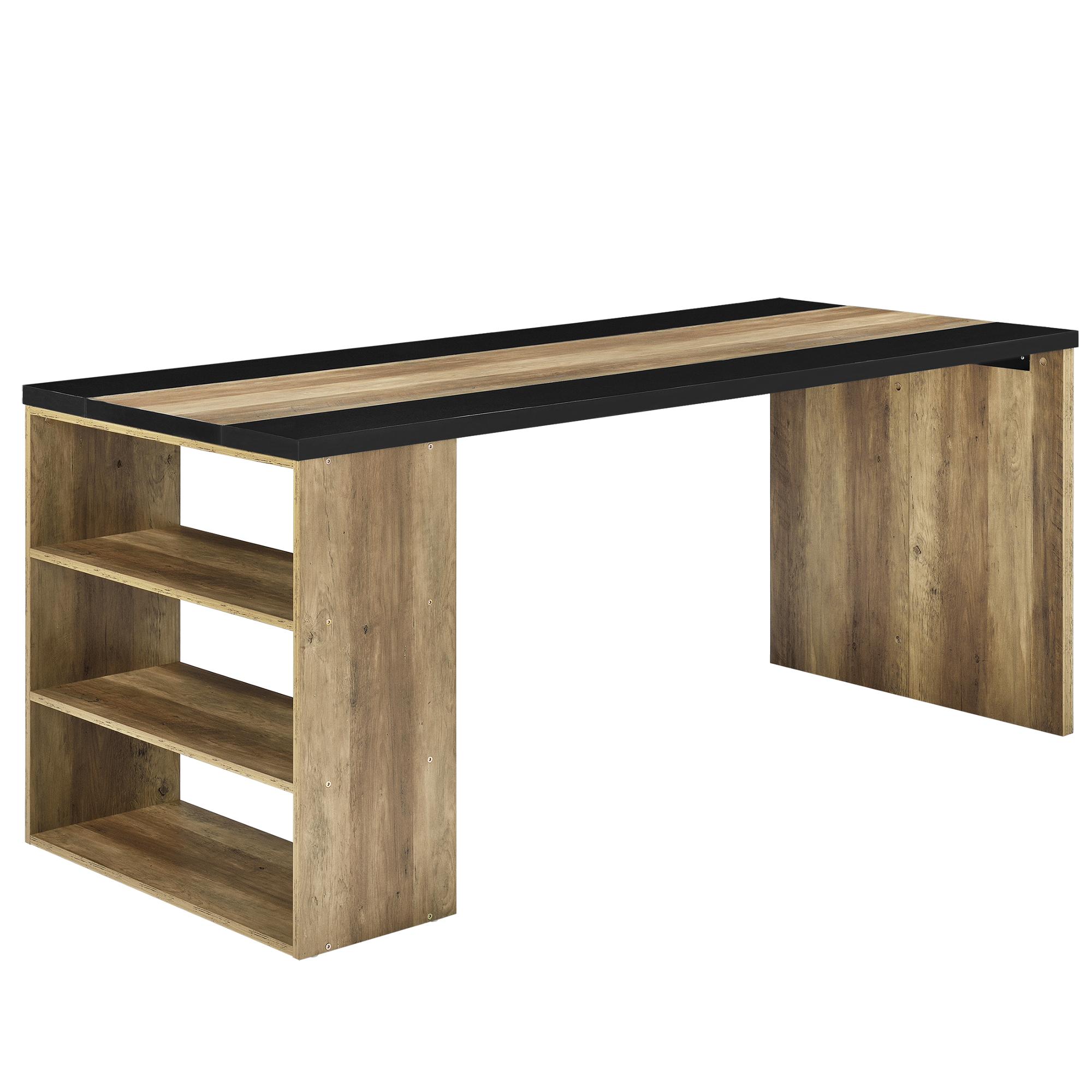 Schreibtisch 180x78x77cm b rotisch for Schreibtisch 90 x 180