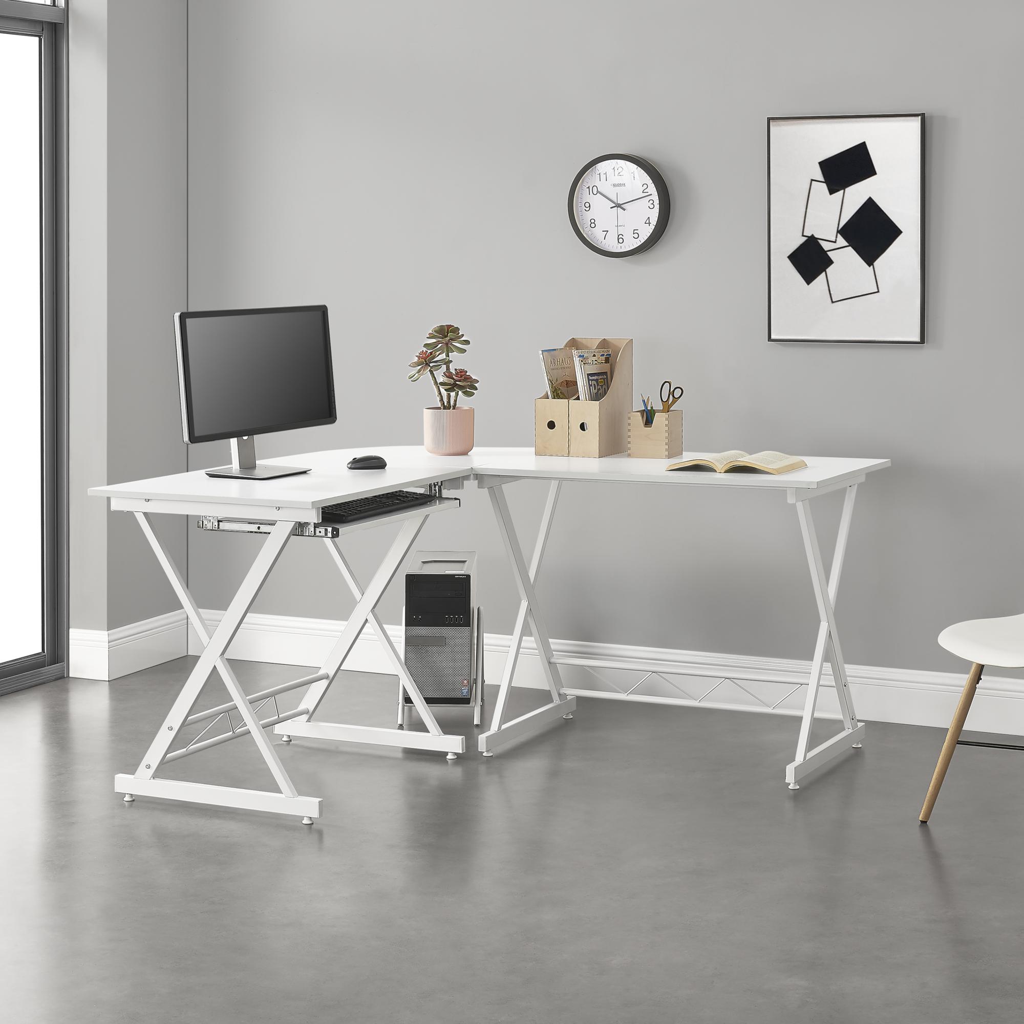 Eckschreibtisch Schreibtisch PC Arbeitstisch Bürotisch Computer Tisch MY SIT