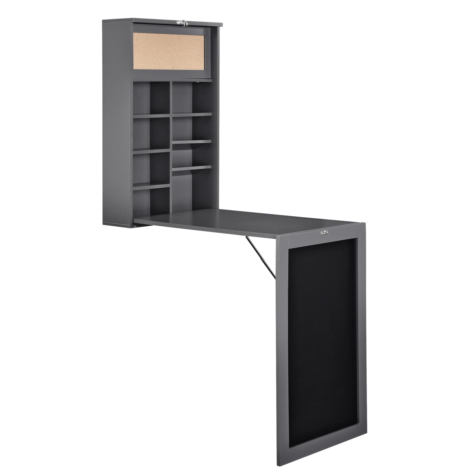 En Casa Wandtisch Schreibtisch Tisch Regal Wand Klapptisch Aus Klappbar Tafel Ebay
