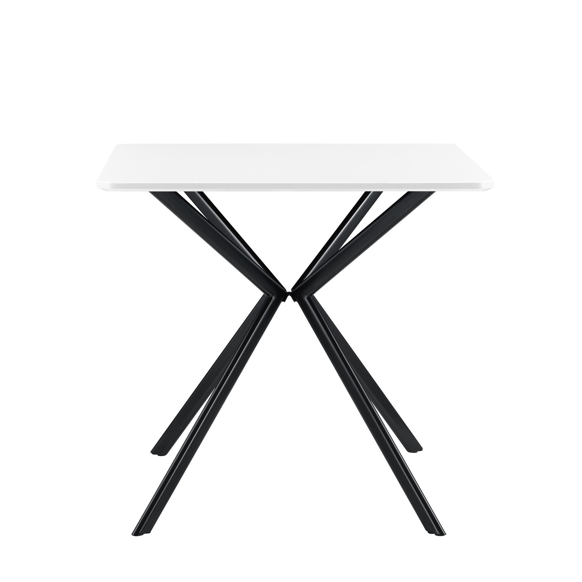 En.casa Esstisch + 2 Stühle Küchentisch Esszimmertisch