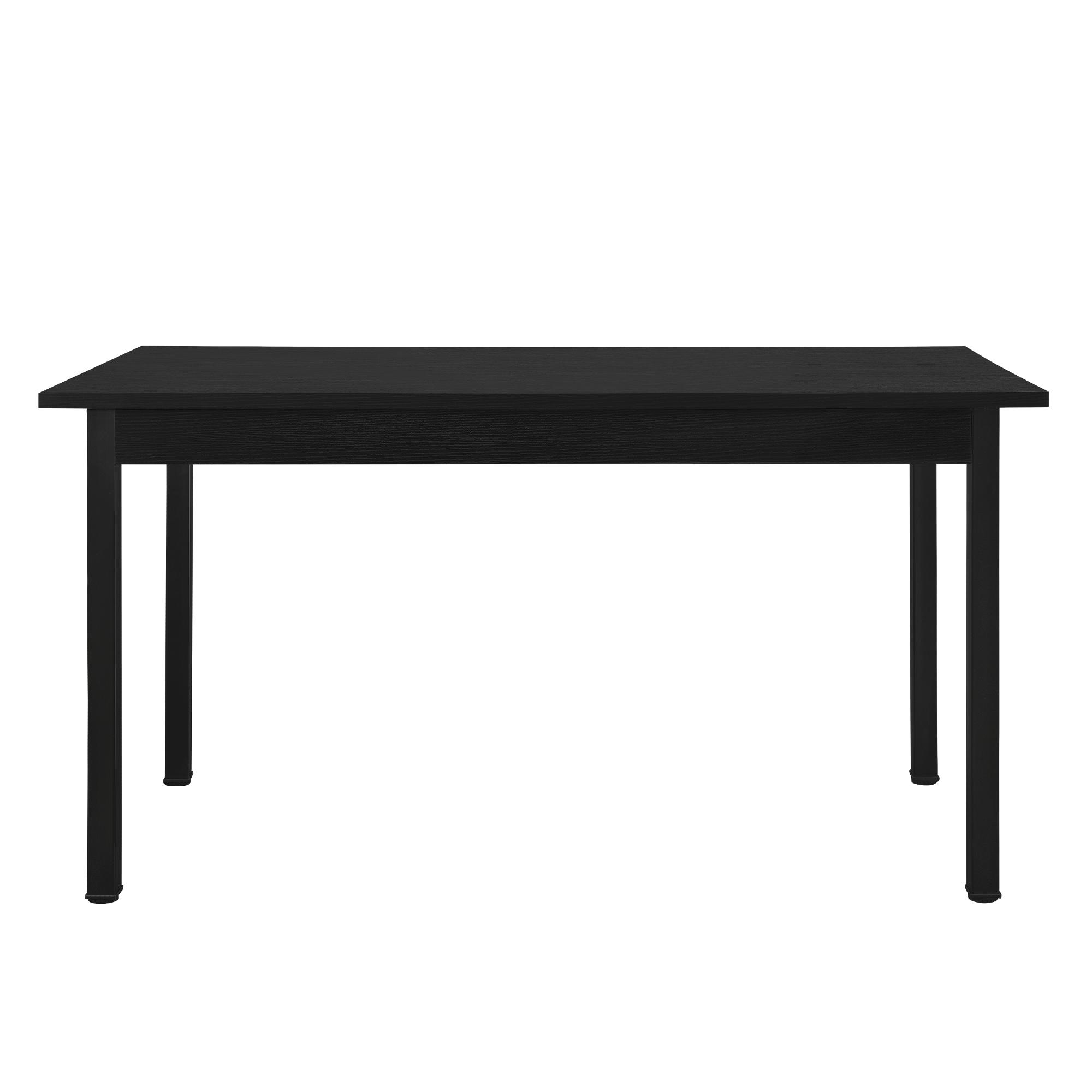 B-WARE Esstisch schwarz [140x60cm] Küchentisch Esszimmertisch Tisch modern