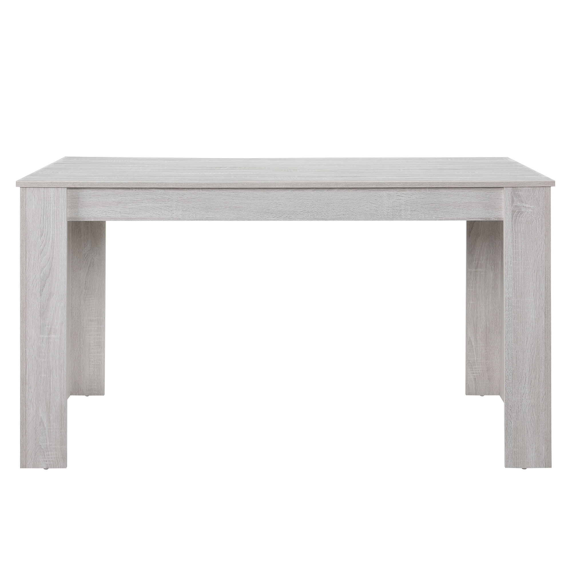 [en.casa]® Jídelní stůl 'Nora' HTFU1403 - dub bílý