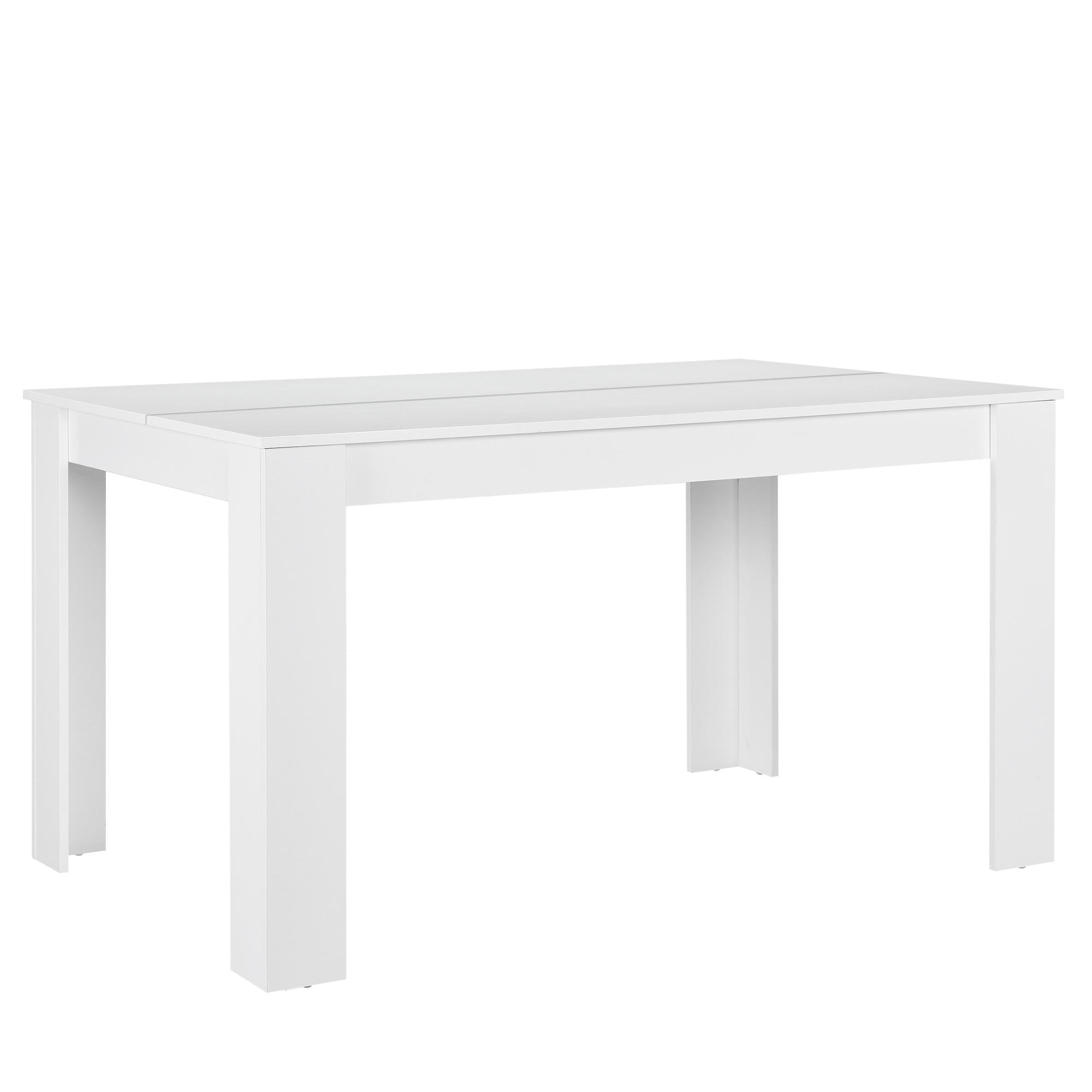 [en.casa]® Jídelní stůl 'Nora' HTFU1404 - bílý