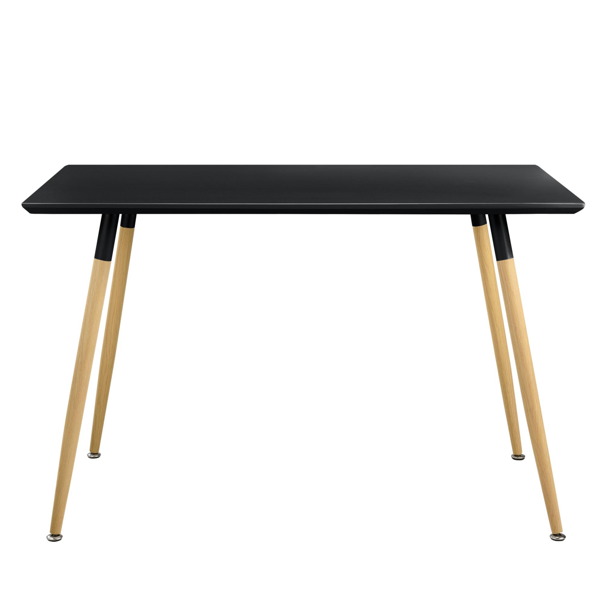 [en.casa]® Esstisch 120x70cm Matt Lackiert Küchentisch Esszimmer Tisch Retro