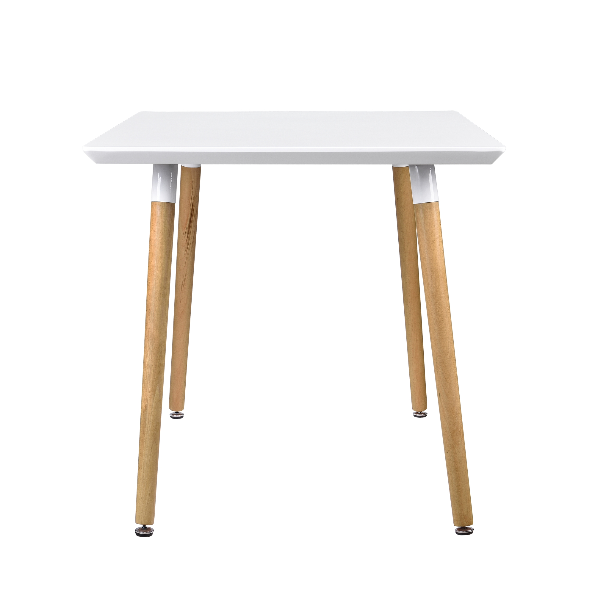 en.casa]® Esstisch 120x70cm Weiß Matt Eiche Küchentisch Esszimmer ...