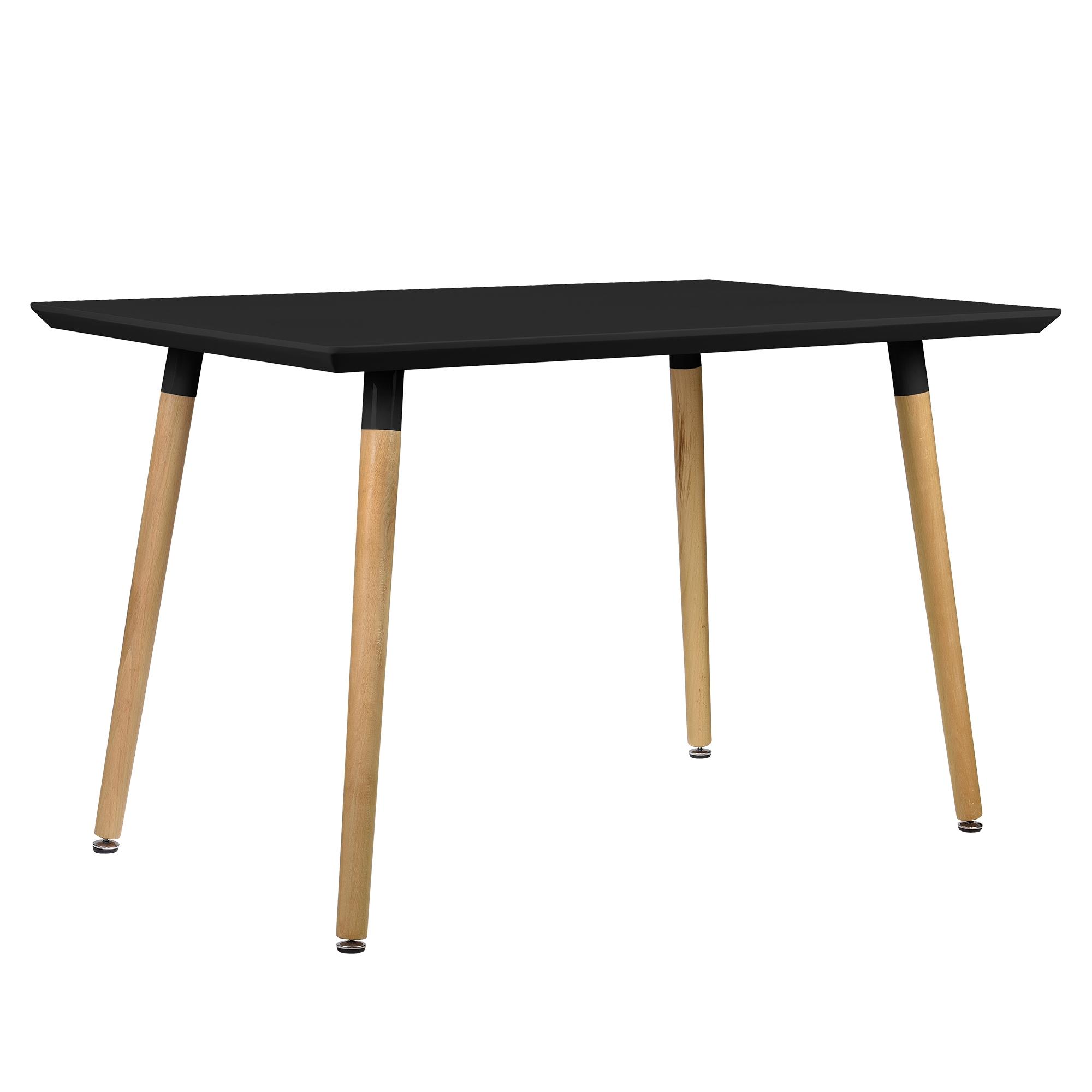 moderner esstisch tisch esszimmer k chentisch retro rund eckig eiche ebay. Black Bedroom Furniture Sets. Home Design Ideas