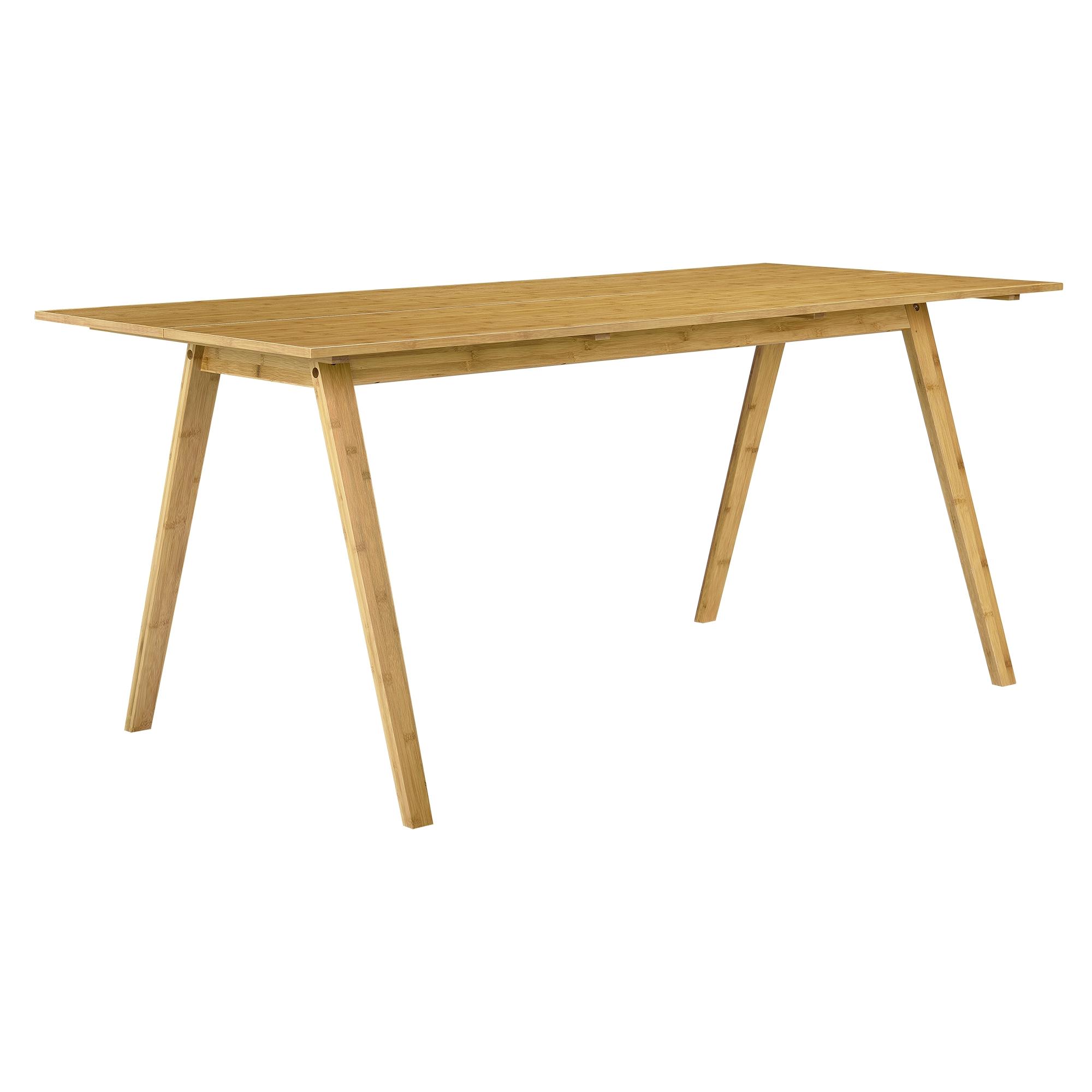 en.casa] esstisch mit 6 stühlen bambus/grau 180x80 küchentisch, Esstisch ideennn