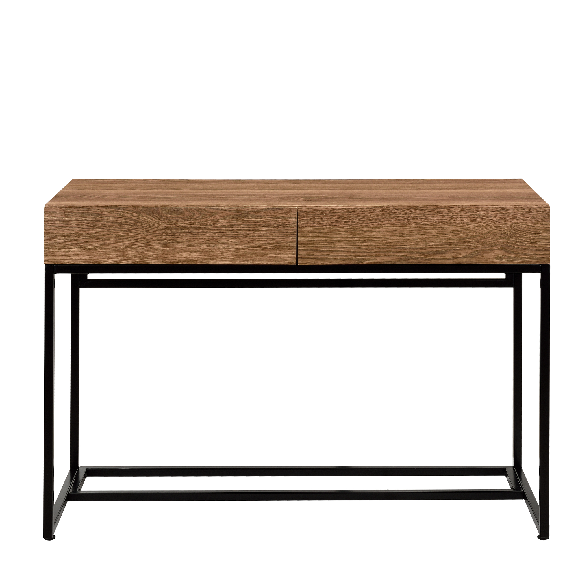 bureau 110x45cm secr taire table d 39 ordinateur bureau console table pc ebay. Black Bedroom Furniture Sets. Home Design Ideas