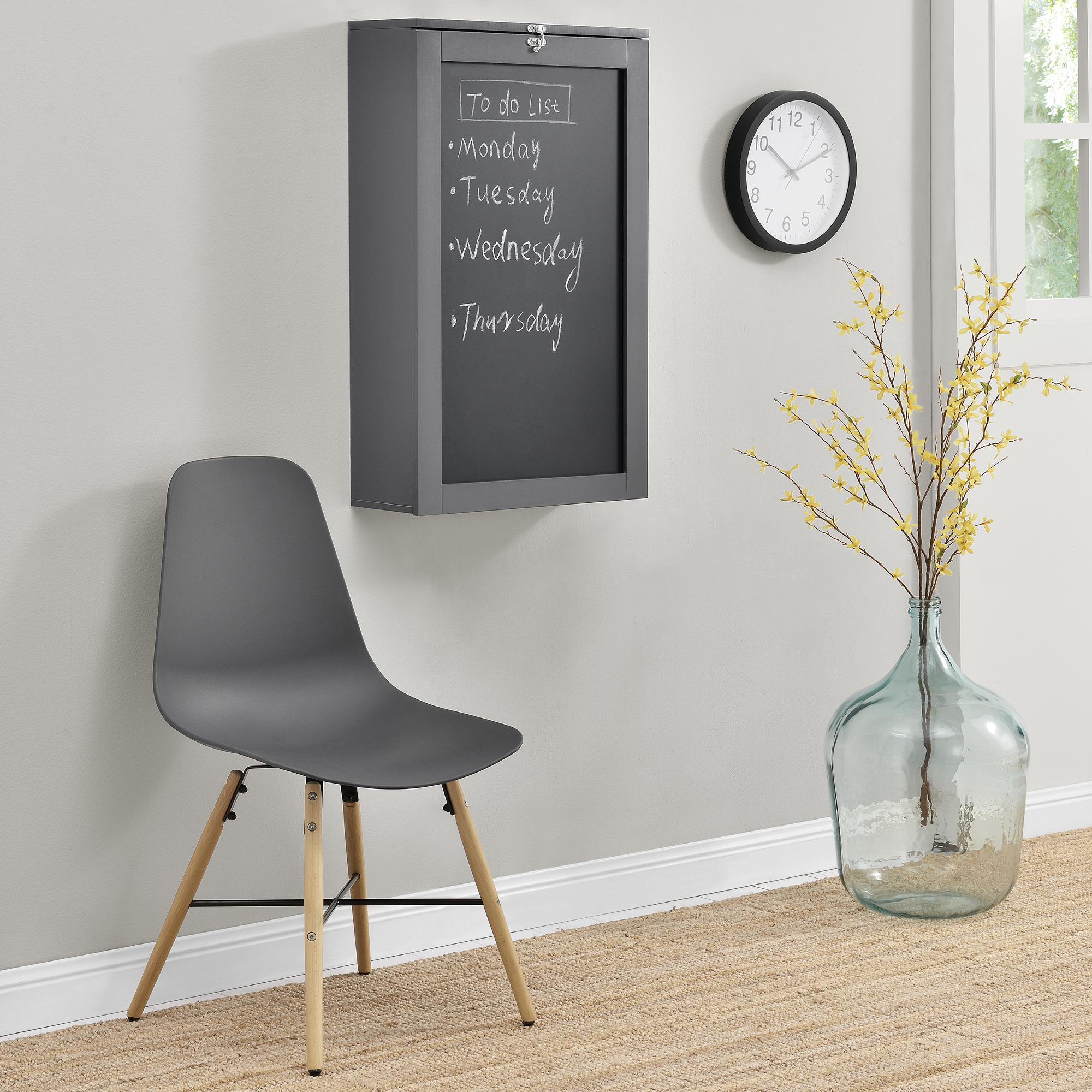 wandtisch grau schreibtisch tisch regal wand klapptisch aus klappbar ebay. Black Bedroom Furniture Sets. Home Design Ideas
