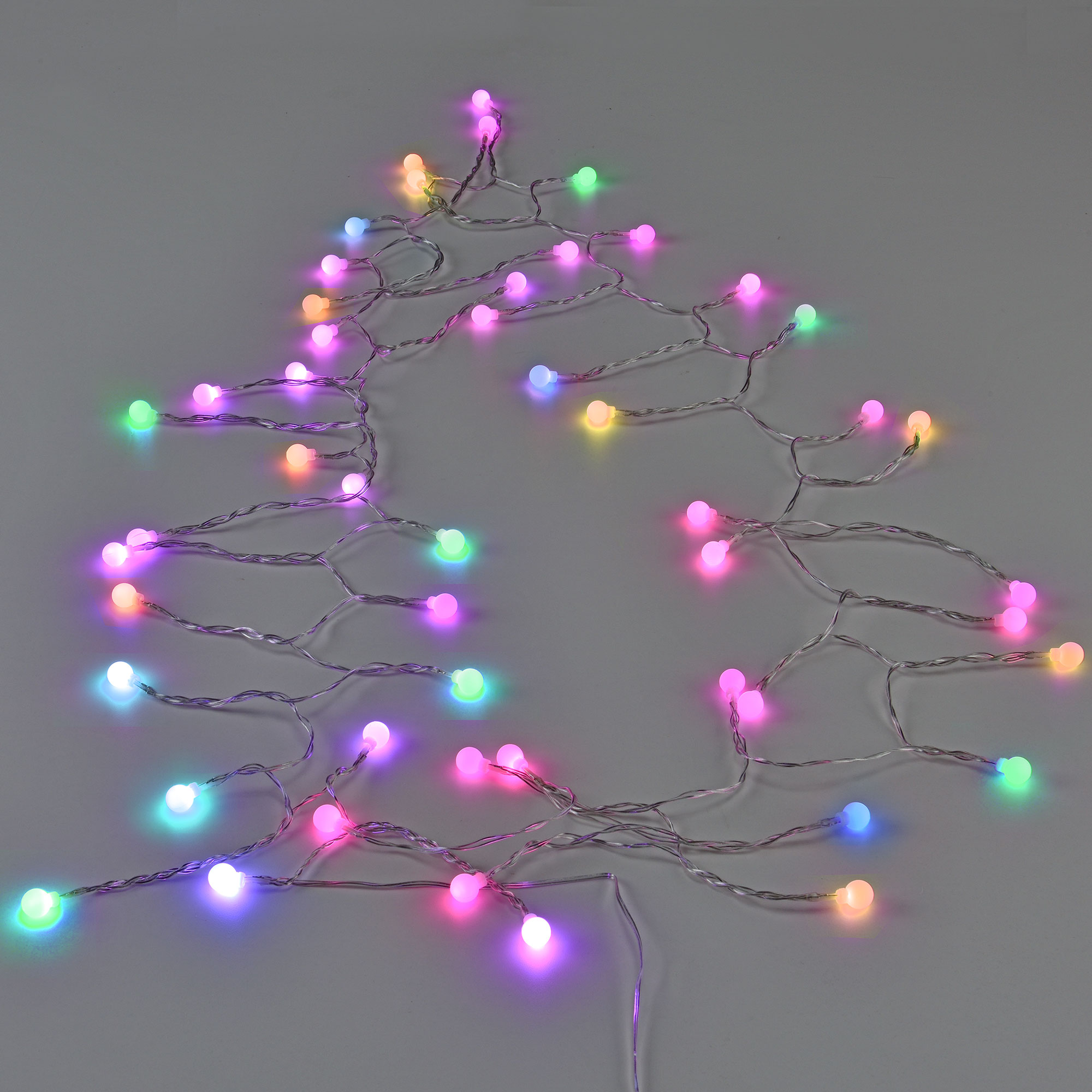 led kugel lichterkette netzteil innen au en weihnachten bunt kerze ebay. Black Bedroom Furniture Sets. Home Design Ideas