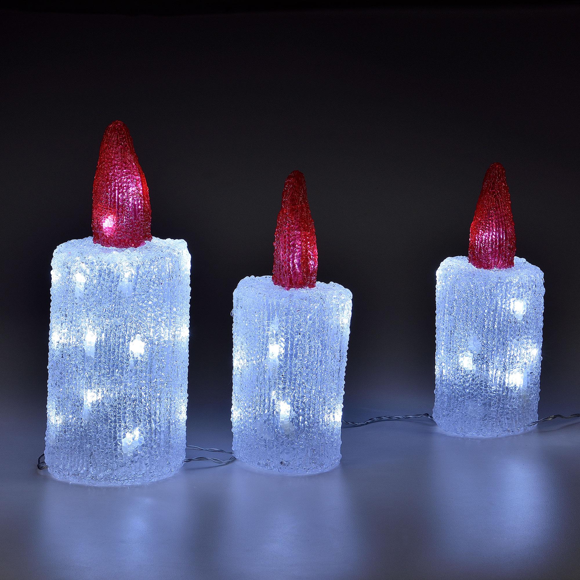weihnachtsm nner auf leiter 65cm weihnachts mann deko weihnachten figur nikolaus ebay. Black Bedroom Furniture Sets. Home Design Ideas