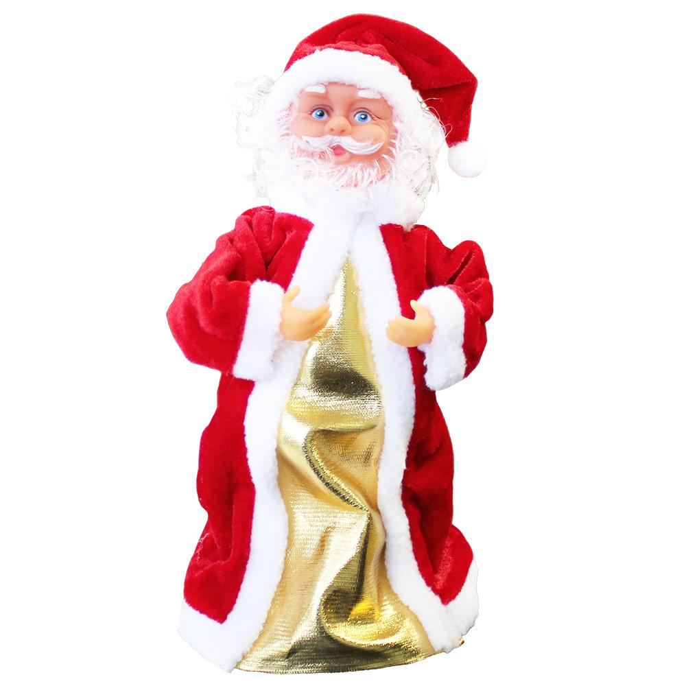 singender weihnachtsmann tanzend 30cm weihnachts deko. Black Bedroom Furniture Sets. Home Design Ideas