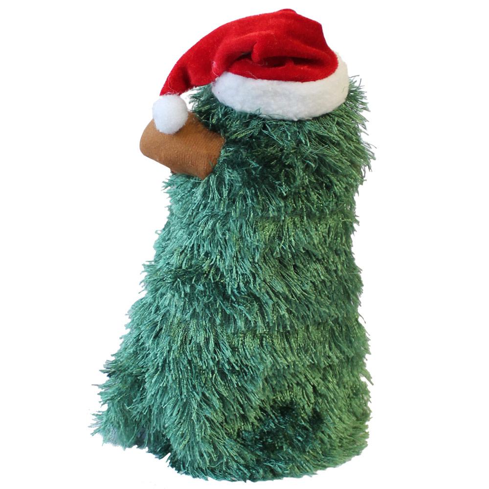 singender tanzender weihnachtsbaum 27cm 11cm weihnachts deko weihnachten figur ebay. Black Bedroom Furniture Sets. Home Design Ideas